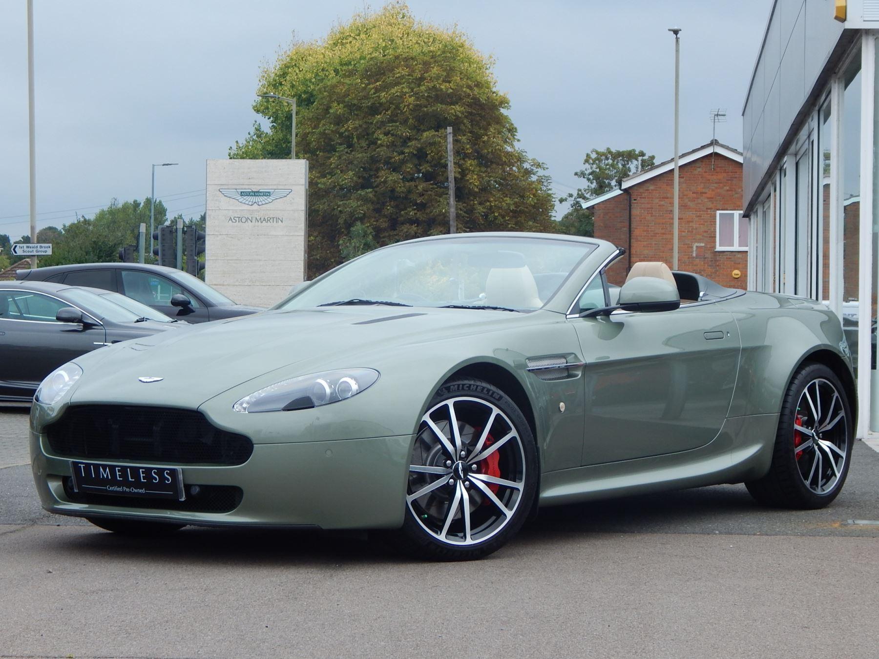 Aston Martin V8 Vantage Roadster 2dr Sportshift [420] 4.7 Automatic Roadster (2010) image