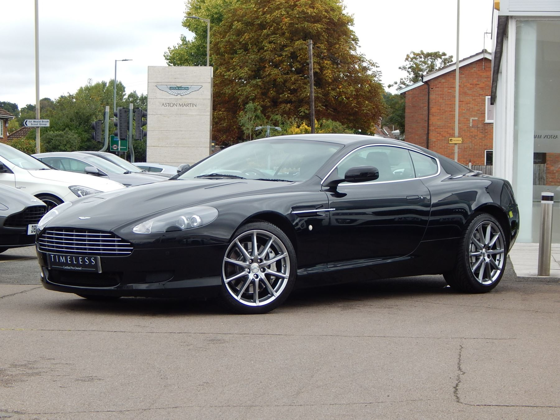Aston Martin DB9 V12 2dr 5.9 Automatic Coupe (2009) image