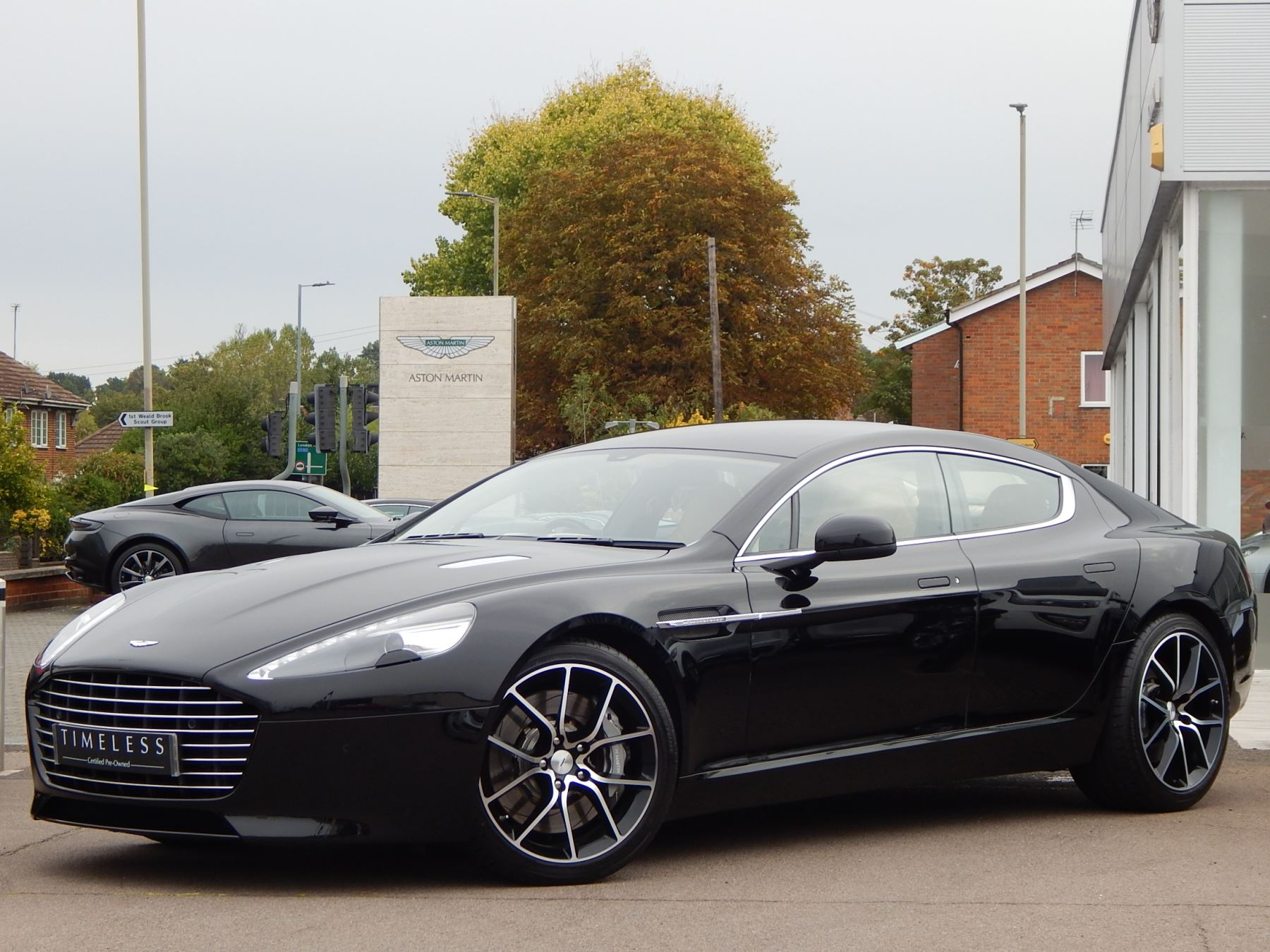 Aston Martin Rapide S V12 [552] 4dr Touchtronic III 5.9 Automatic 5 door Saloon (2016) image