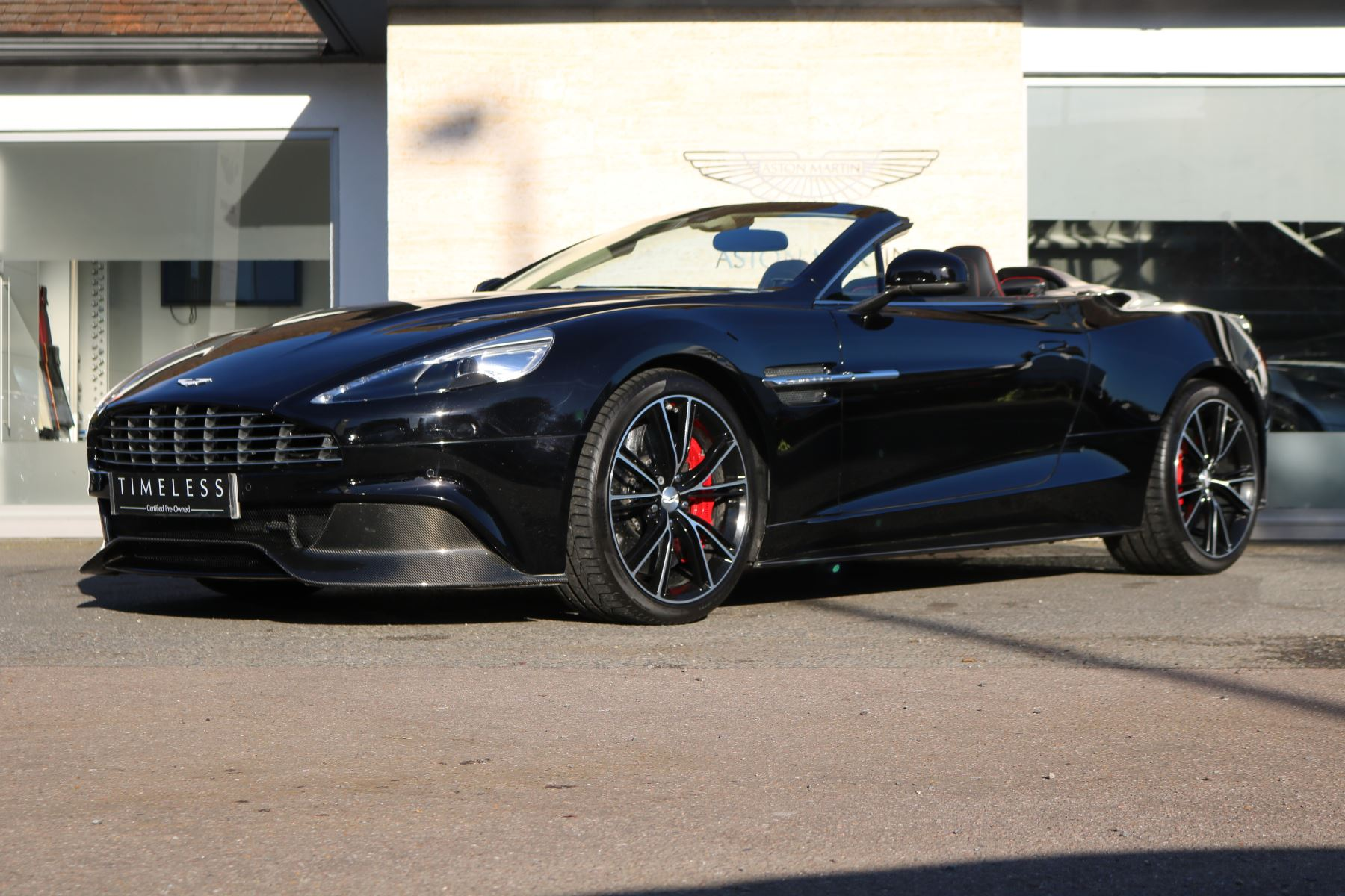 Used Aston Martin Vanquish Black Cars For Sale Grange - Black aston martin vanquish