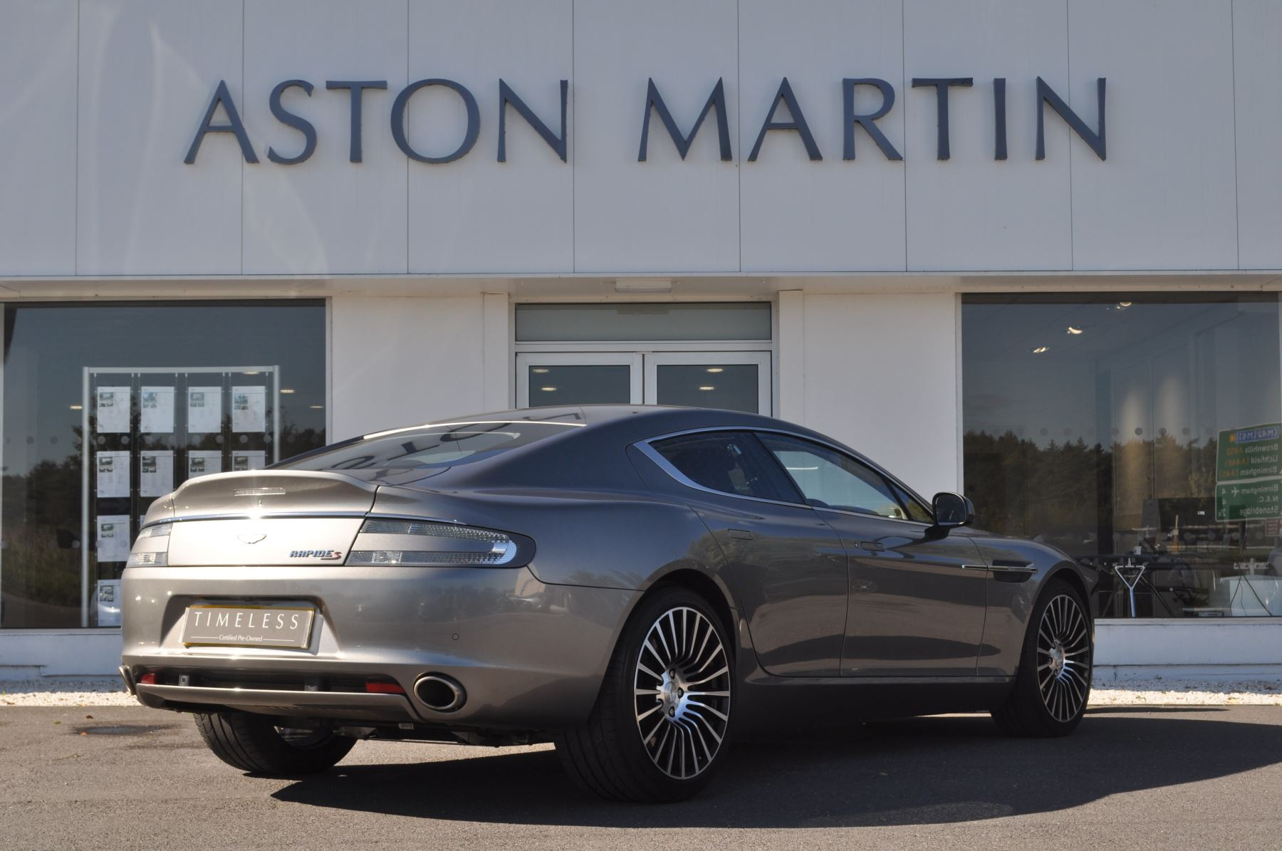 Aston Martin Rapide S V Dr Touchtronic Automatic Door - Aston martin rapid