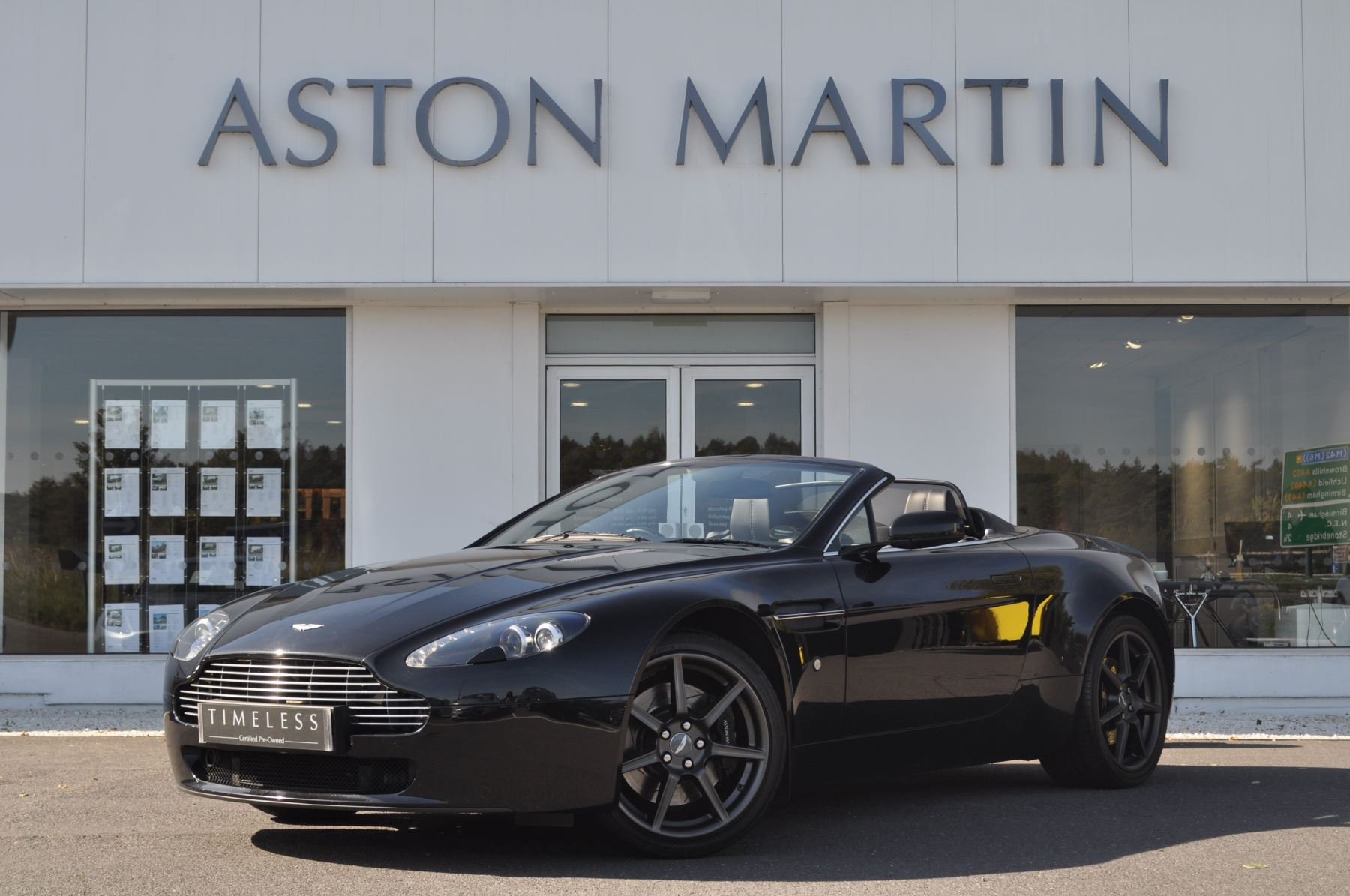 Used Aston Martin V Vantage Roadster Cars For Sale Grange - Used aston martin v8 vantage