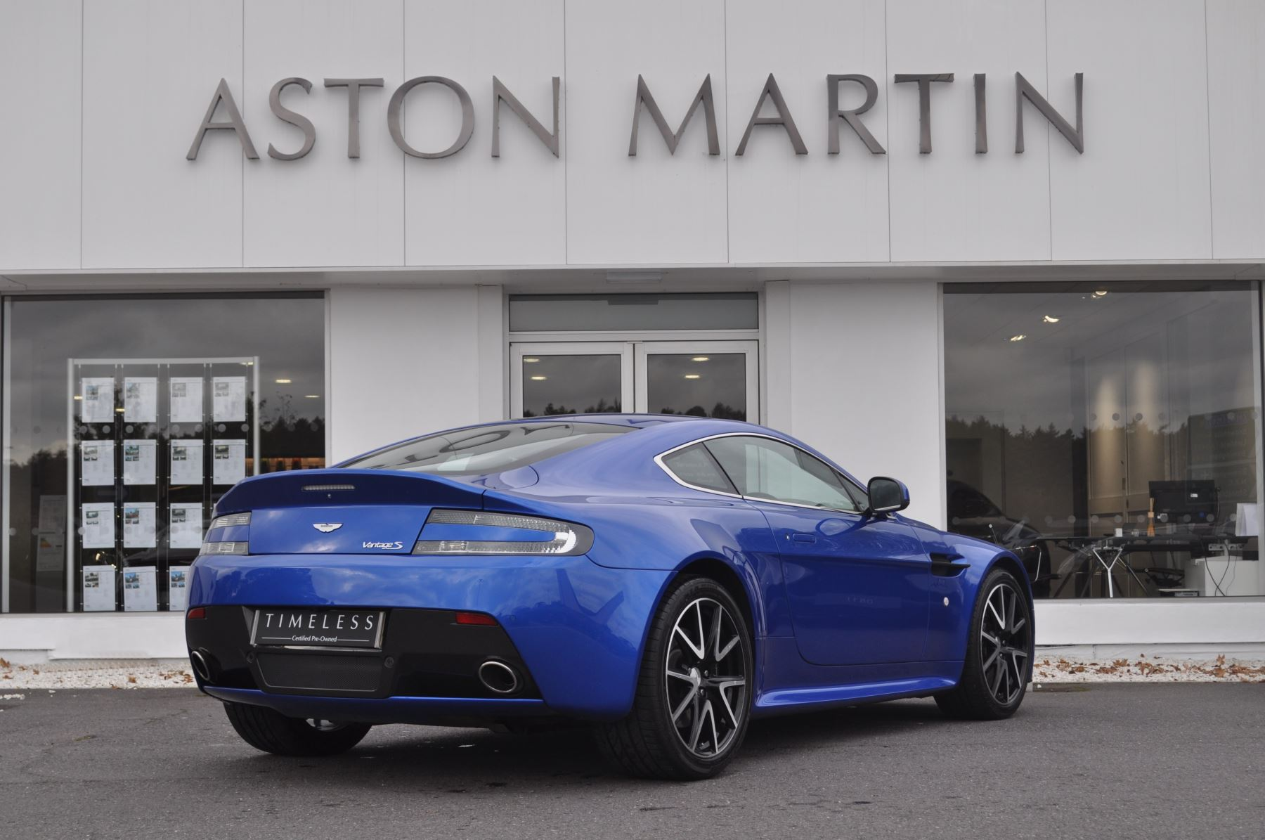 Aston Martin V Vantage S Coupe S Dr Sportshift Automatic - Aston martin certified pre owned