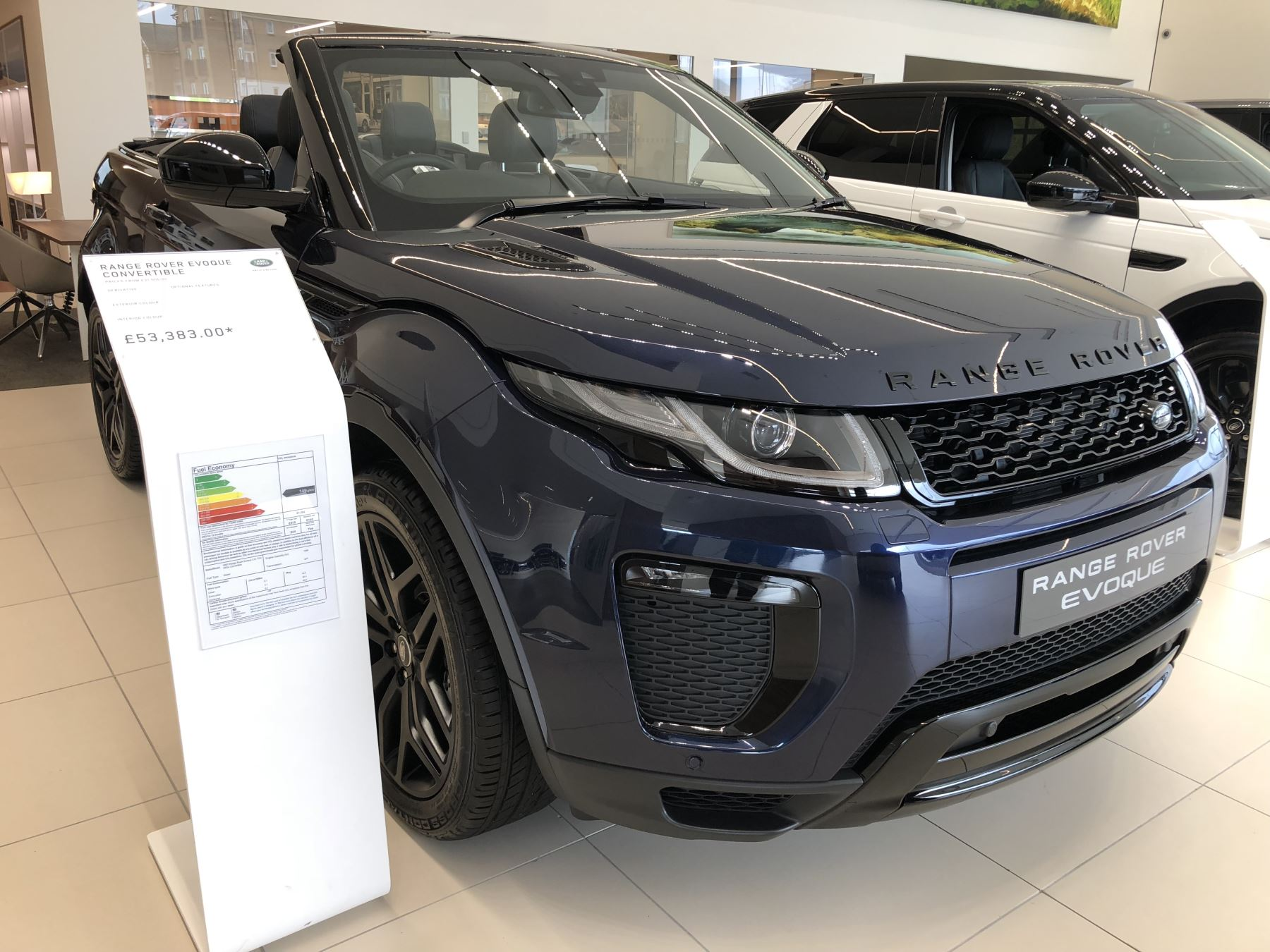 Land Rover Range Rover Evoque Convertible 2.0 TD4 HSE Dynamic Diesel Automatic 2 door Convertible (16MY) image