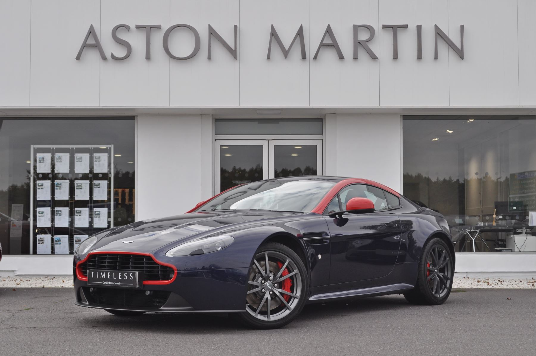 Aston Martin Vantage N430 V8 S Coupe  4.7 Sports Shift 2 door (2015)