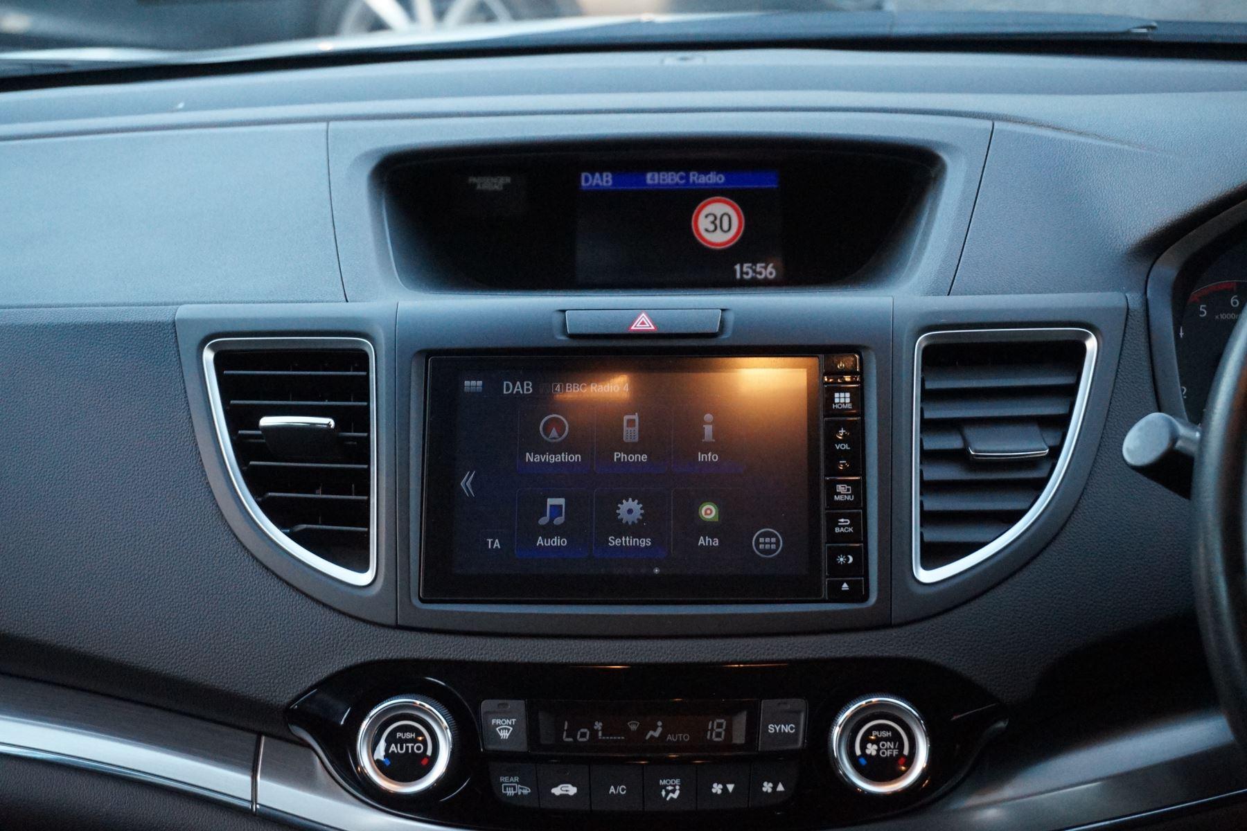 Honda Cr V 16 I Dtec 160 Se 5dr Nav Dasp Diesel Estate 2015 At Home Audio Mazda Mx5 Mk3 Radio Electronic Circuit Board
