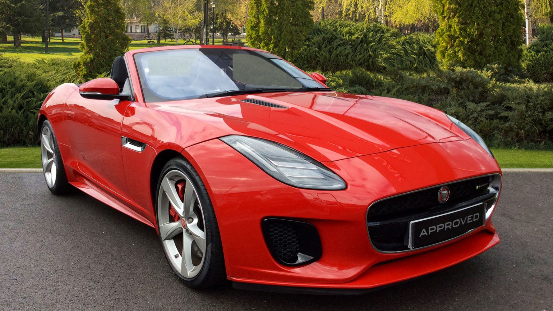 Jaguar F-TYPE 3.0 [380] Supercharged V6 R-Dynamic 2dr Automatic Convertible (2018)