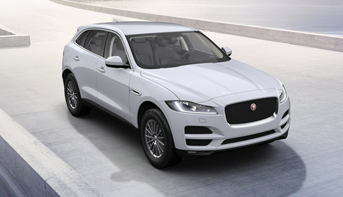 Jaguar F-PACE Chequered Flag Edition Offer