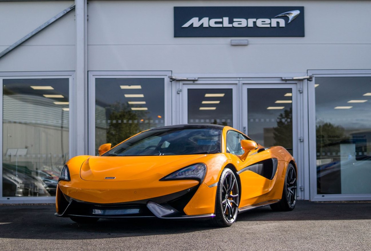 McLaren 570S Coupe V8 SSG 3.8 Automatic 2 door Coupe (2018) image