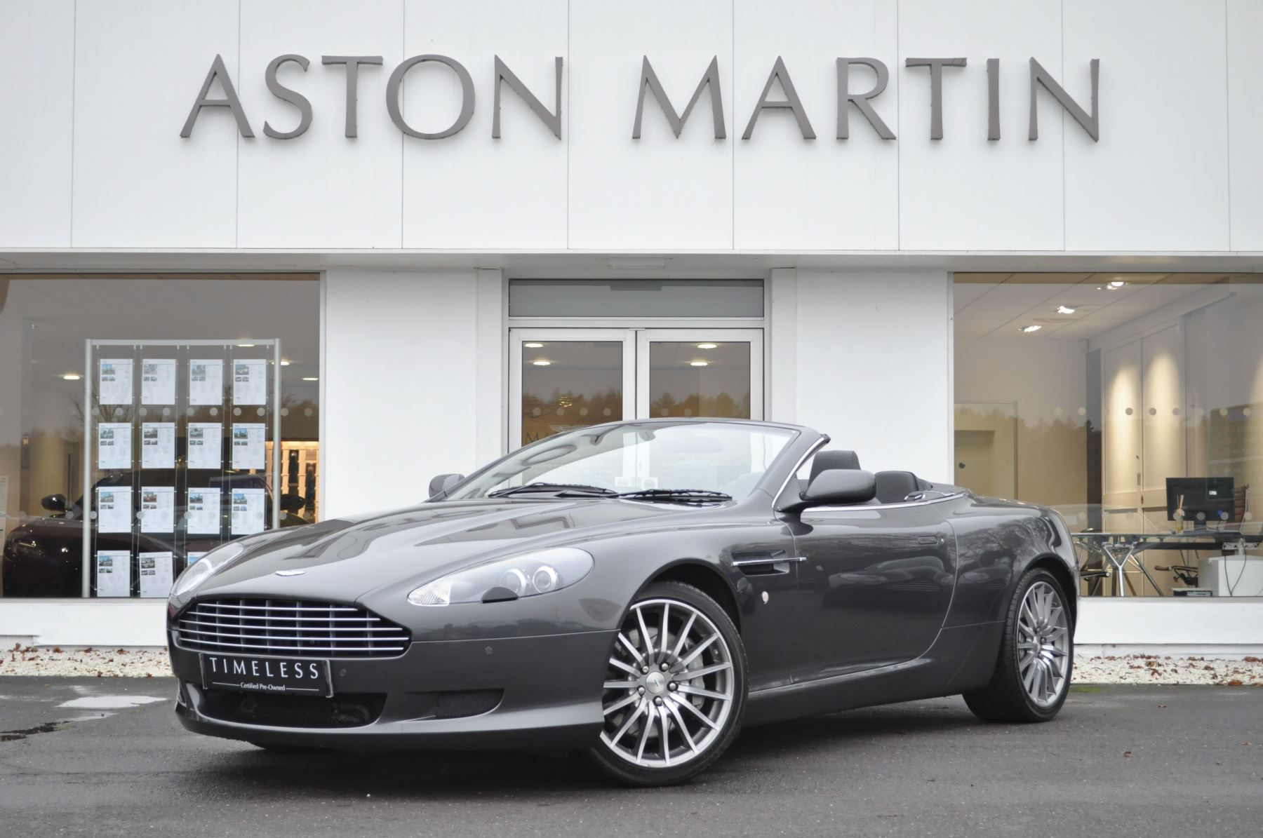 Aston Martin DB9 V12 2dr Volante Touchtronic 5.9 Automatic Convertible (2008) image