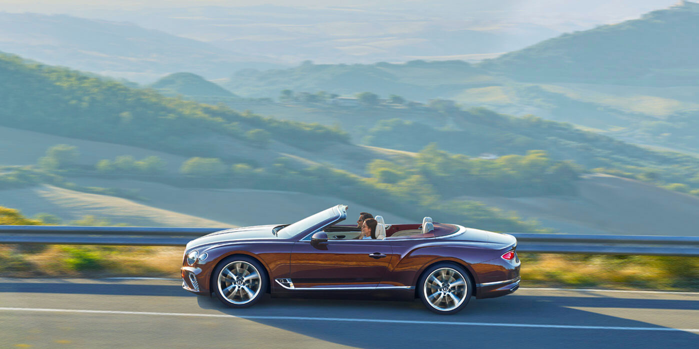 Bentley New Continental GT Convertible - Epitomising the Spirit of Grand Touring