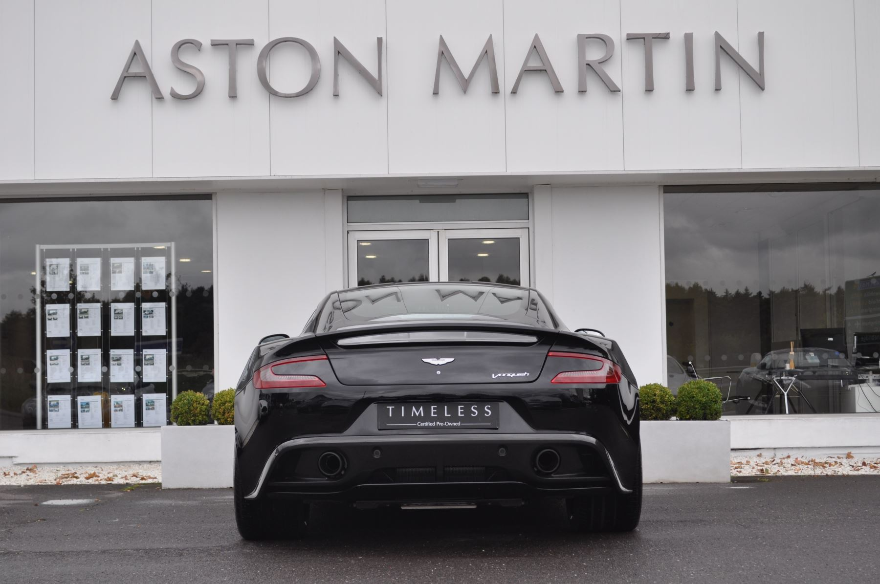 Aston Martin Vanquish V12 [568] 2+2 2dr Touchtronic image 6