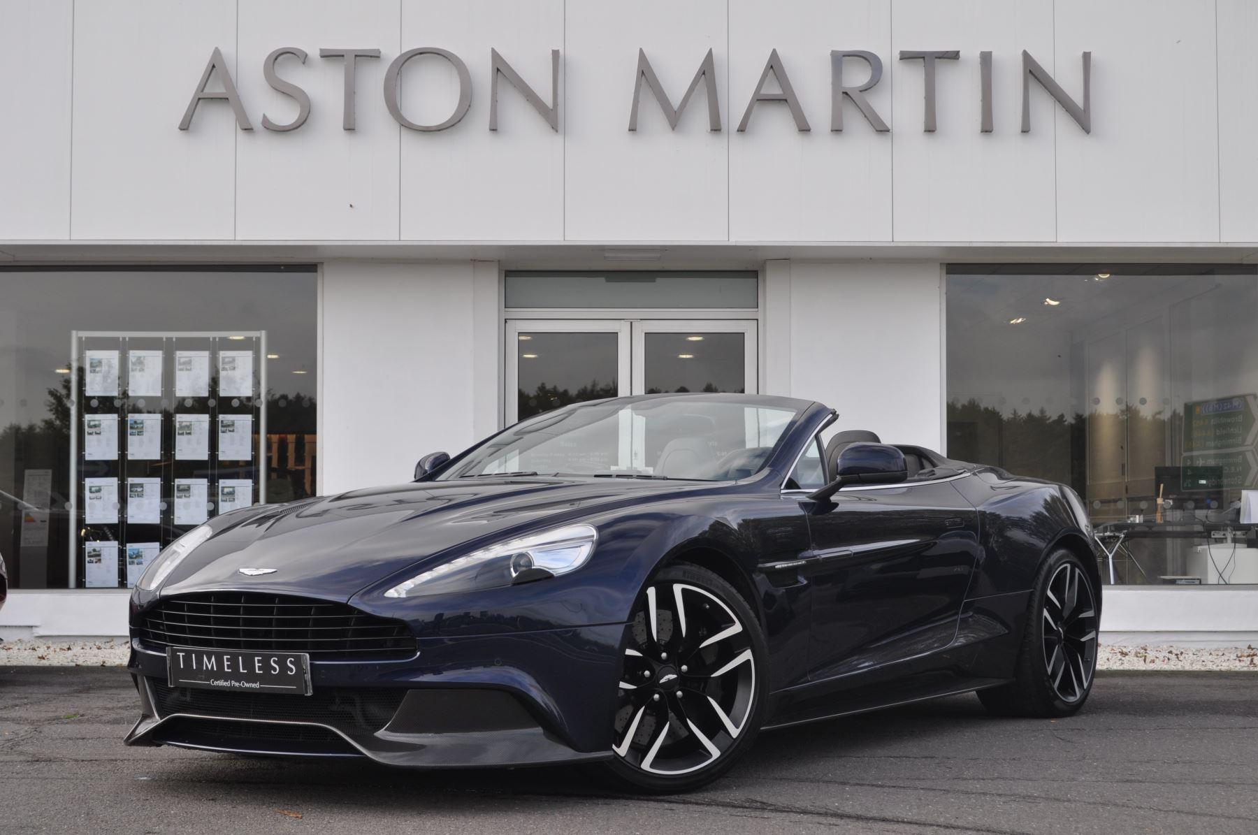 Aston Martin Vanquish V12 [568] 2dr Volante Touchtronic 5.9 Automatic Convertible (2015) image