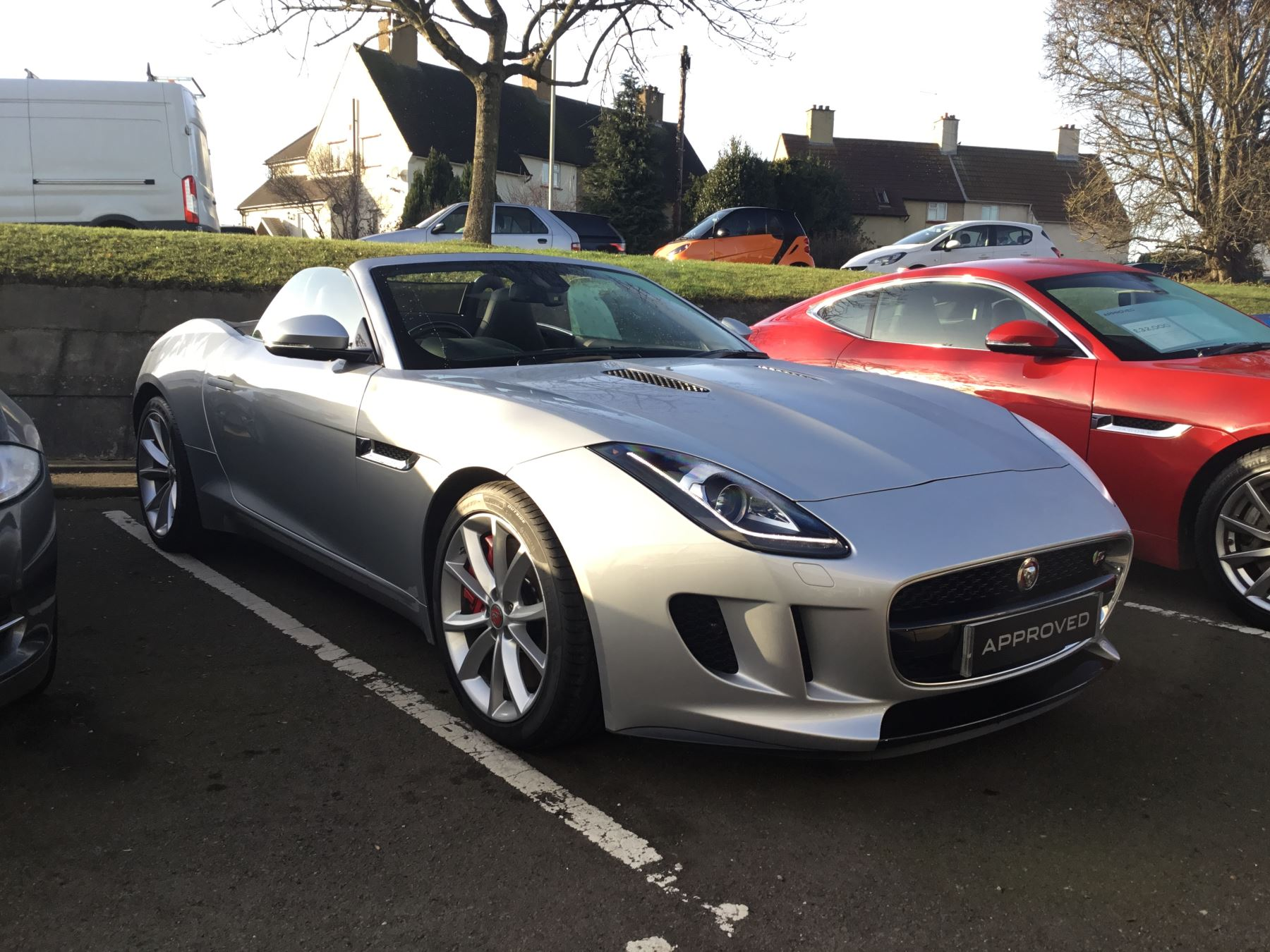 Jaguar F-TYPE 3.0 Supercharged V6 S 2dr 3 door Convertible (2015) image