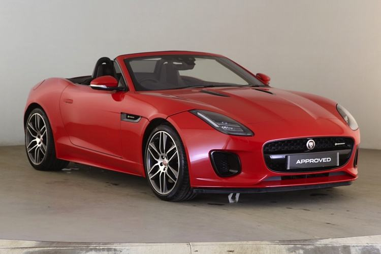 Jaguar F-TYPE 2.0 R-Dynamic 2dr Automatic Convertible (2018) image