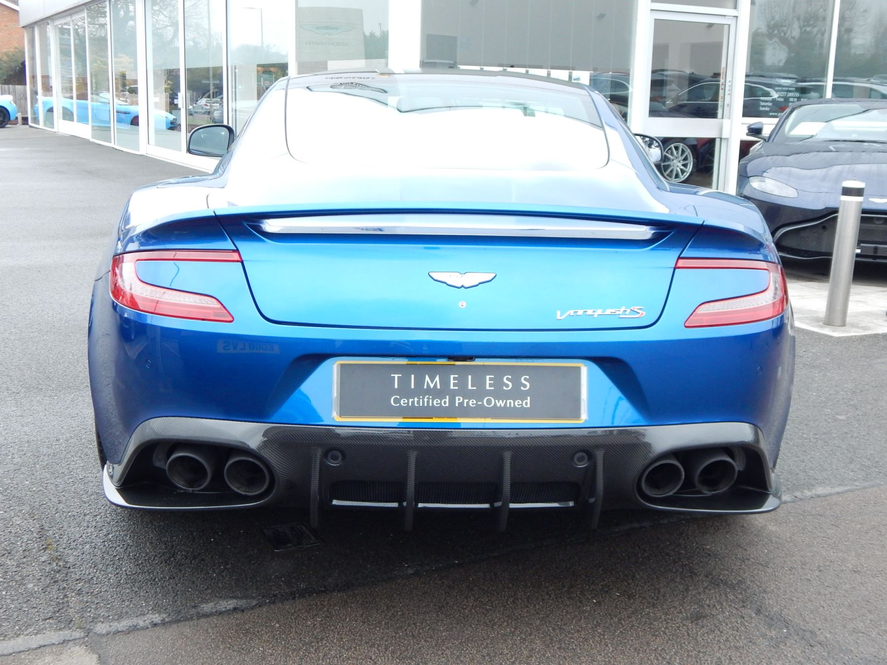 Aston Martin Vanquish V12 [595] S 2+2 2dr Touchtronic image 16