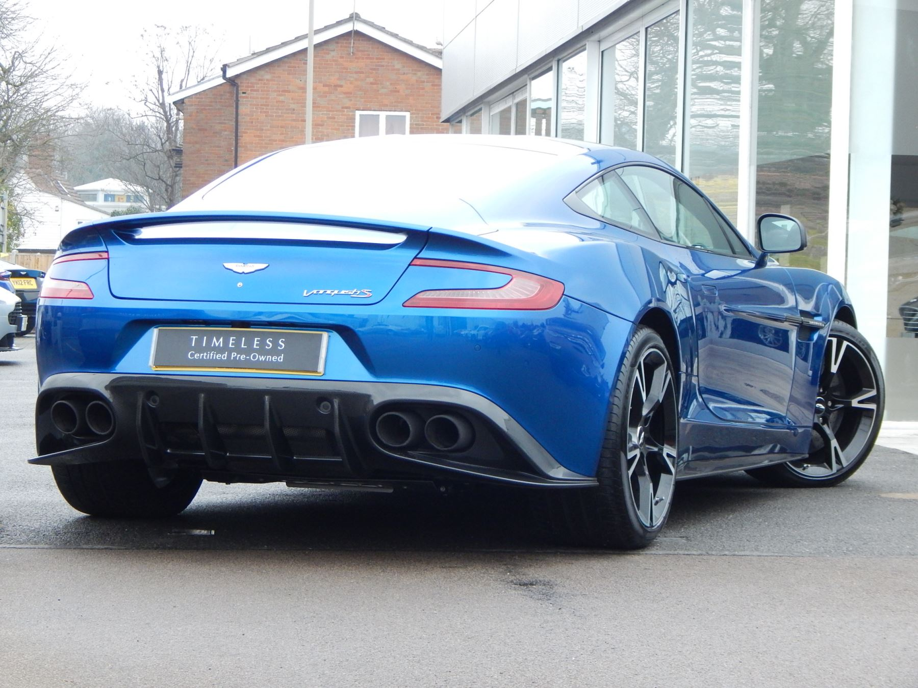 Aston Martin Vanquish V12 [595] S 2+2 2dr Touchtronic image 14