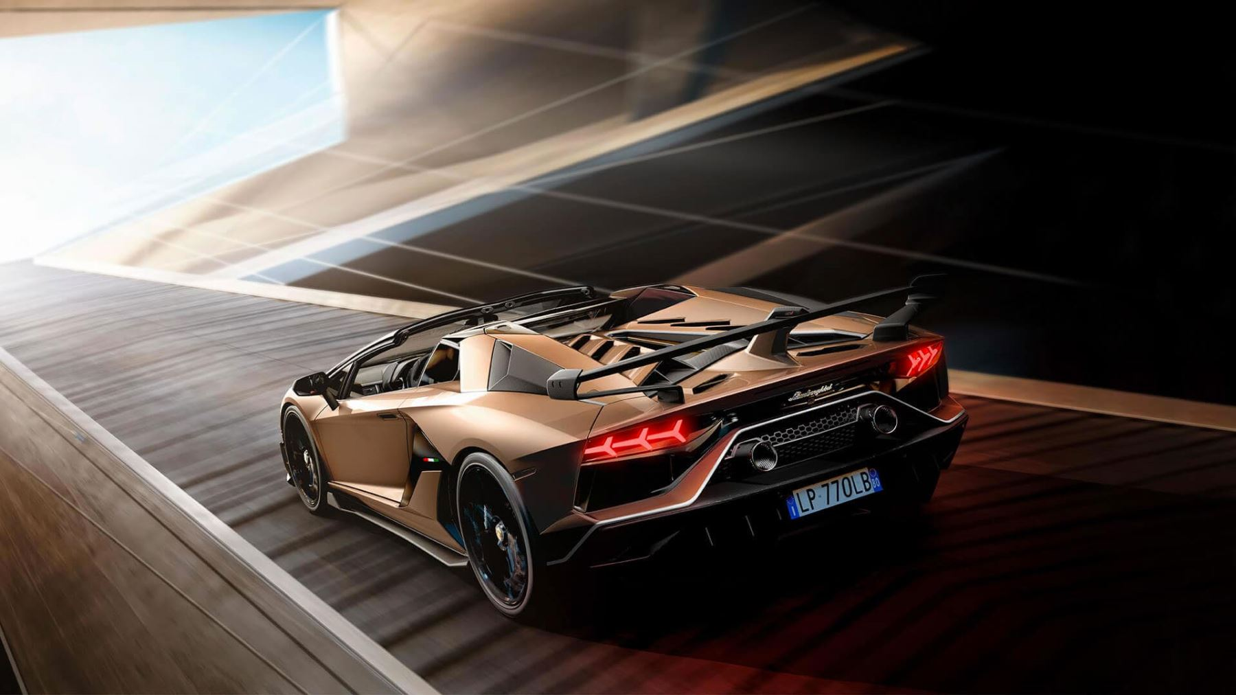 Lamborghini Aventador SVJ Roadster - Real emotions shape the future image 2