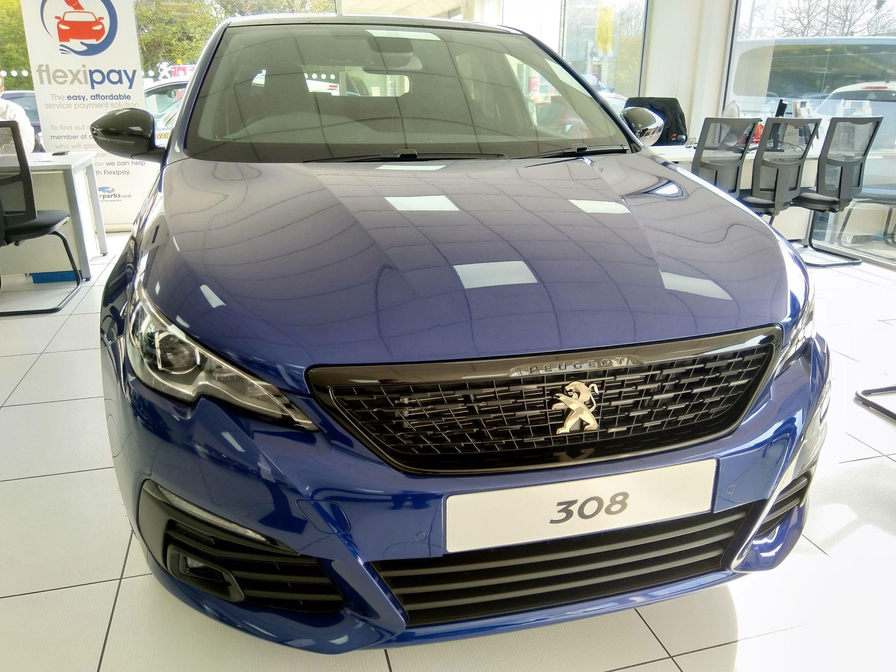 Peugeot 308 1.5 BlueHDi 130 GT Line Diesel 5 door Hatchback (17MY)