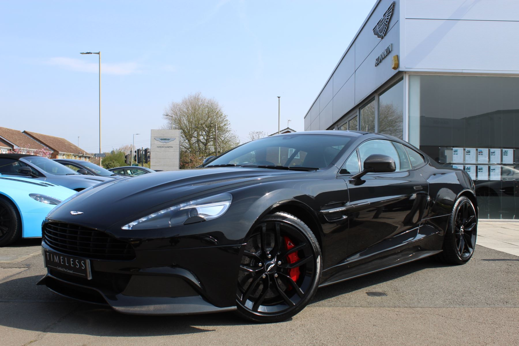 Aston Martin Vanquish V12 [568] 2+2 2dr Touchtronic 5.9 Automatic 3 door Coupe (2015)