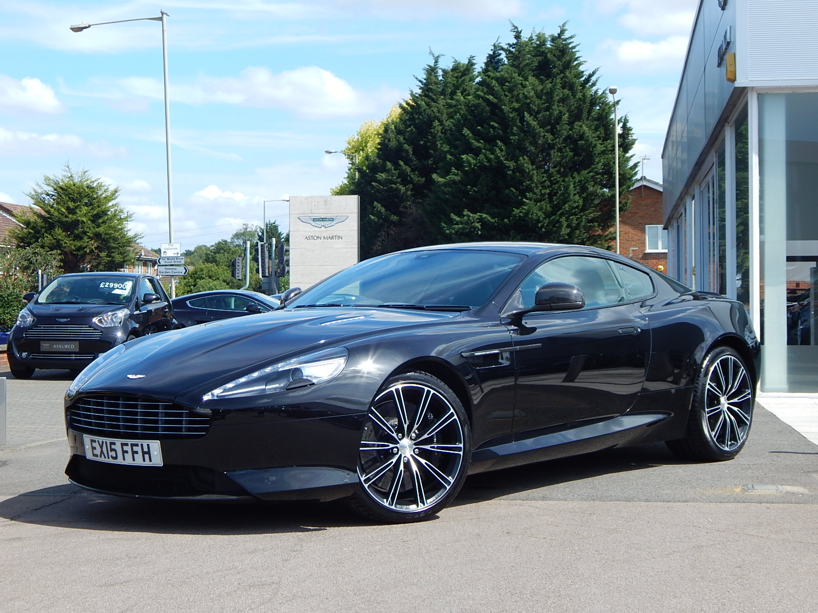 Aston Martin DB9 V12 2dr Touchtronic 5.9 Automatic 3 door Coupe (2015) image