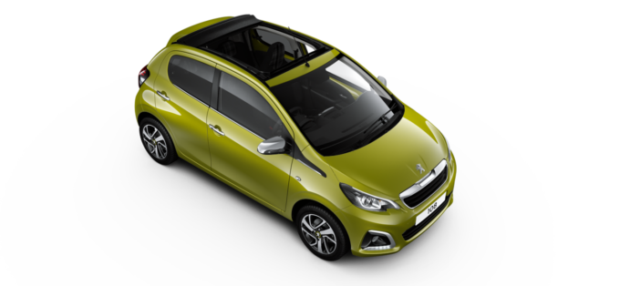Peugeot 108 TOP cabrio - From NIL Advance Payment