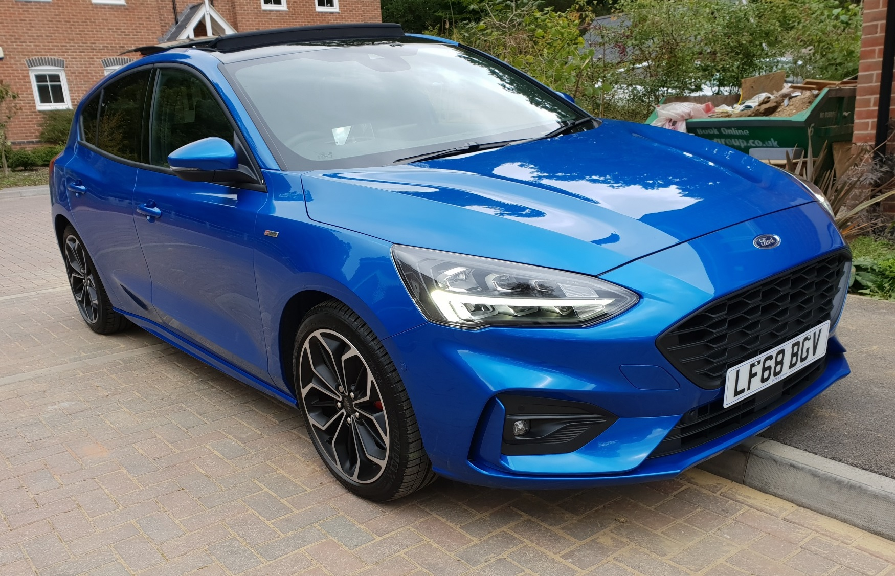 Ford Focus 1 5 Ecoblue 120 St Line X Diesel Automatic 5 Door Hatchback 2018 At Ford Wimbledon