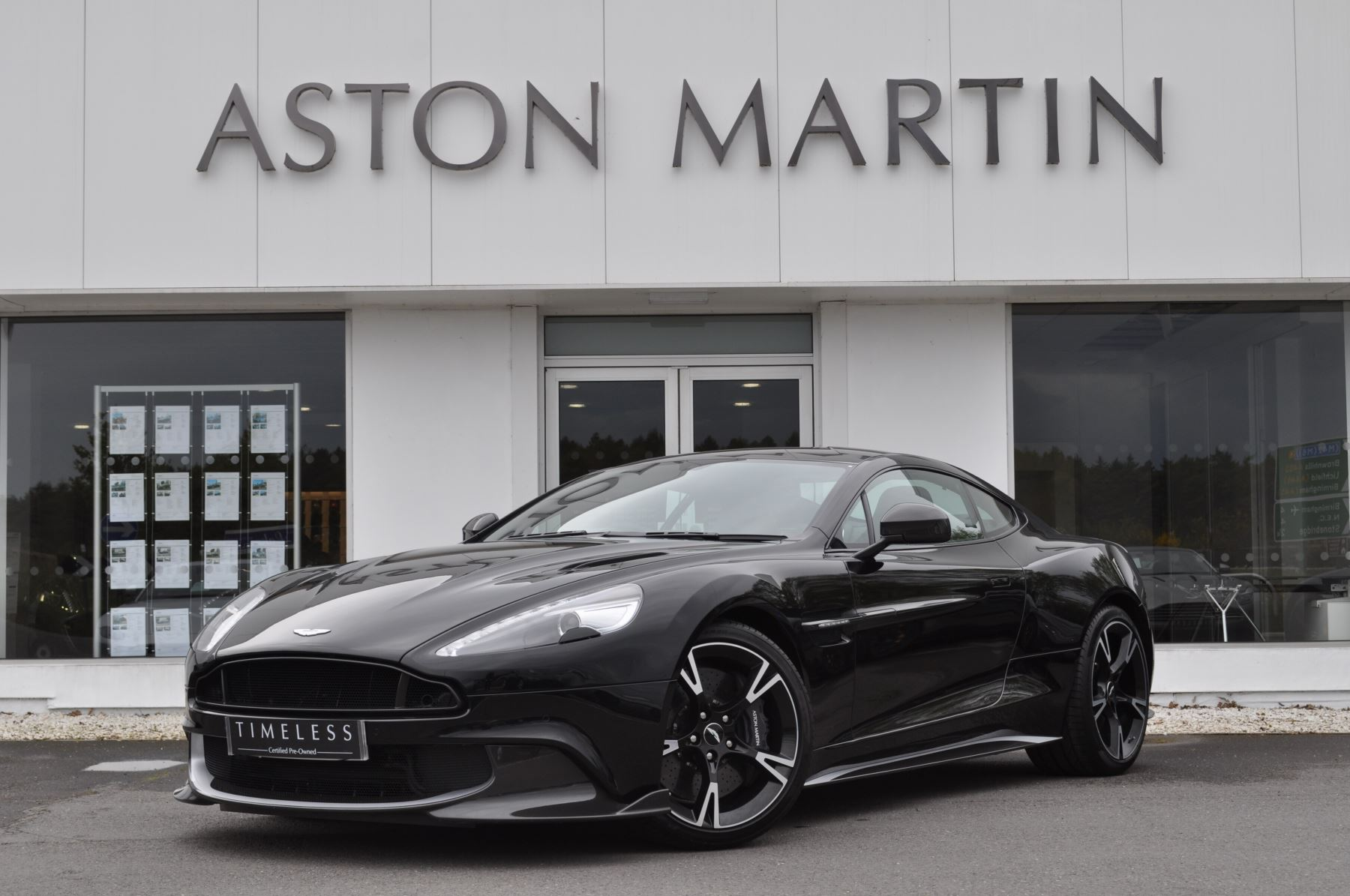 Aston Martin Vanquish V12 [595] S 2+2 2dr Touchtronic 5.9 Automatic 3 door Coupe (2017)