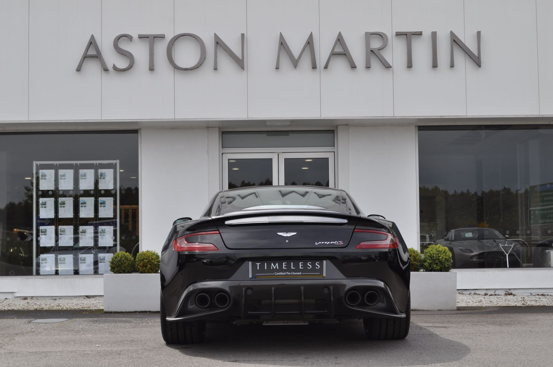 Aston Martin Vanquish V12 [595] S 2+2 2dr Touchtronic image 6
