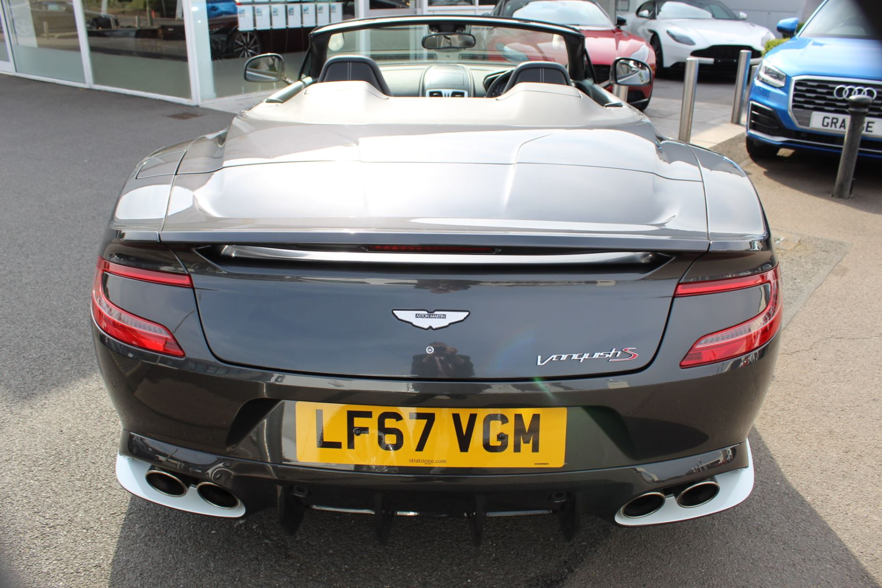 Aston Martin Vanquish S Volante V12 [595] S 2dr Volante Touchtronic image 24