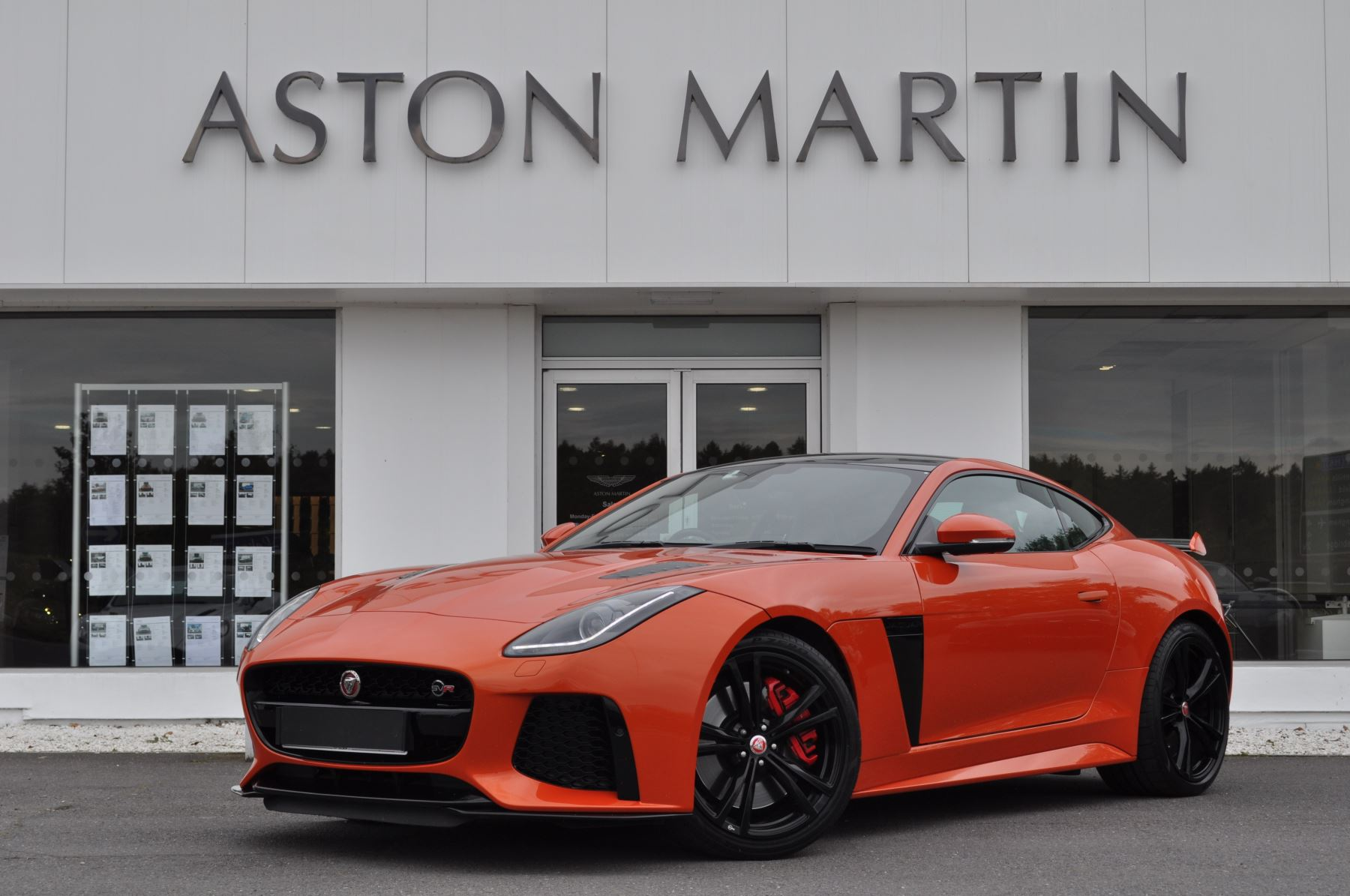 Jaguar F-TYPE 5.0 Supercharged V8 SVR 2dr AWD Automatic 3 door Coupe (2016)