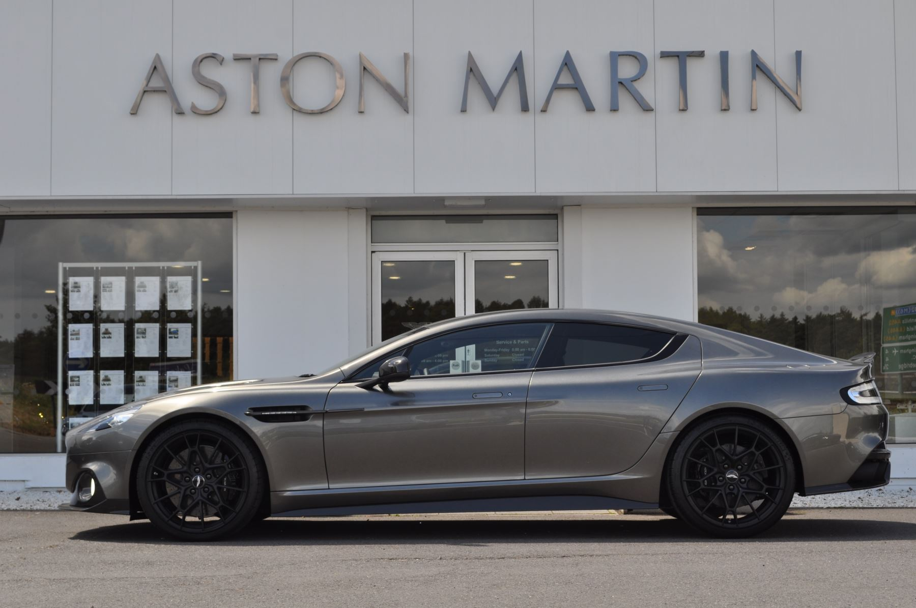 Aston Martin Rapide S Rapide AMR image 2