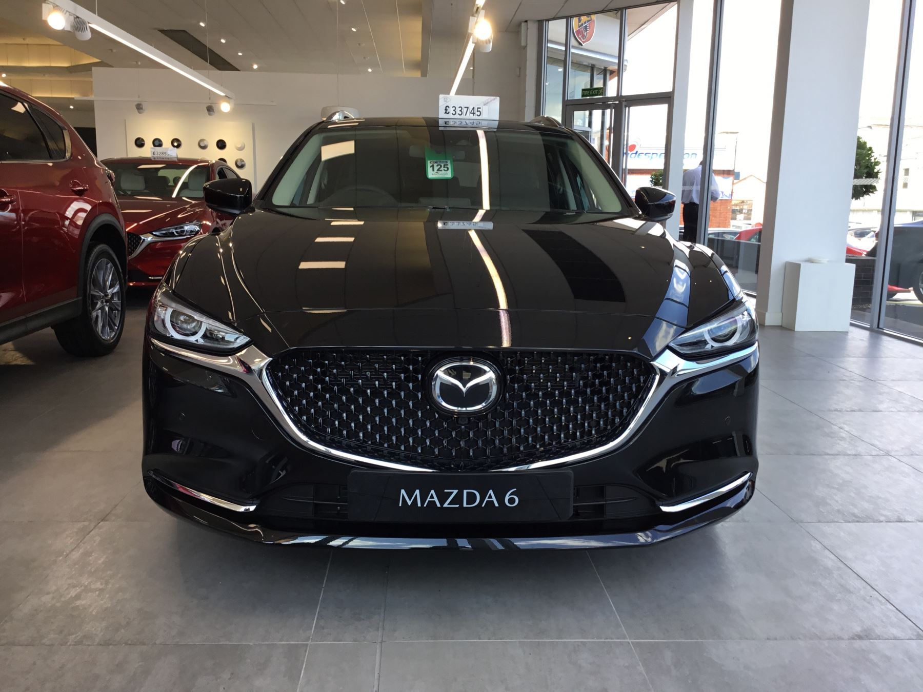 Mazda 6 2.2d [184] Sport Nav+ 5dr WITH MAZDA SAFETY PACK image 2
