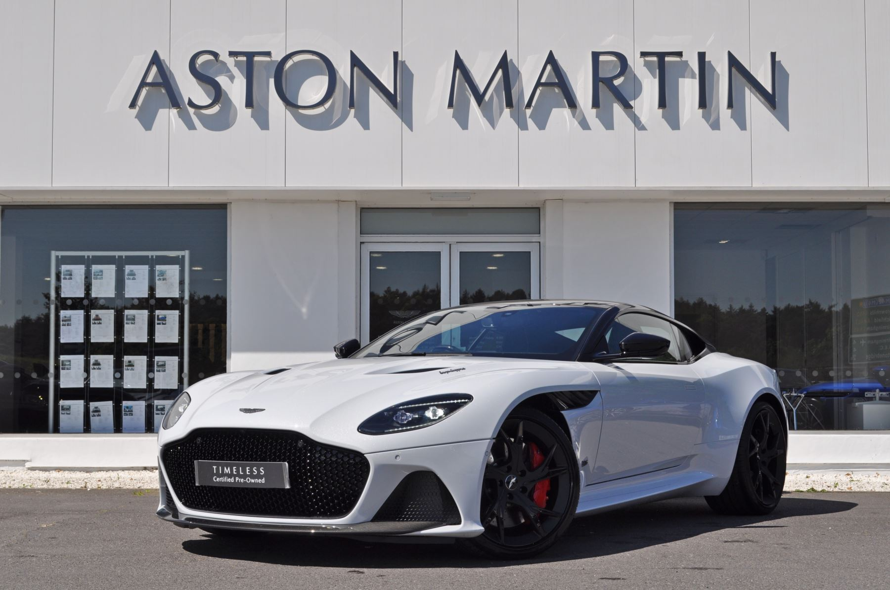 Aston Martin DBS V12 Superleggera 2dr Touchtronic 5.2 Automatic 3 door Coupe (2019)