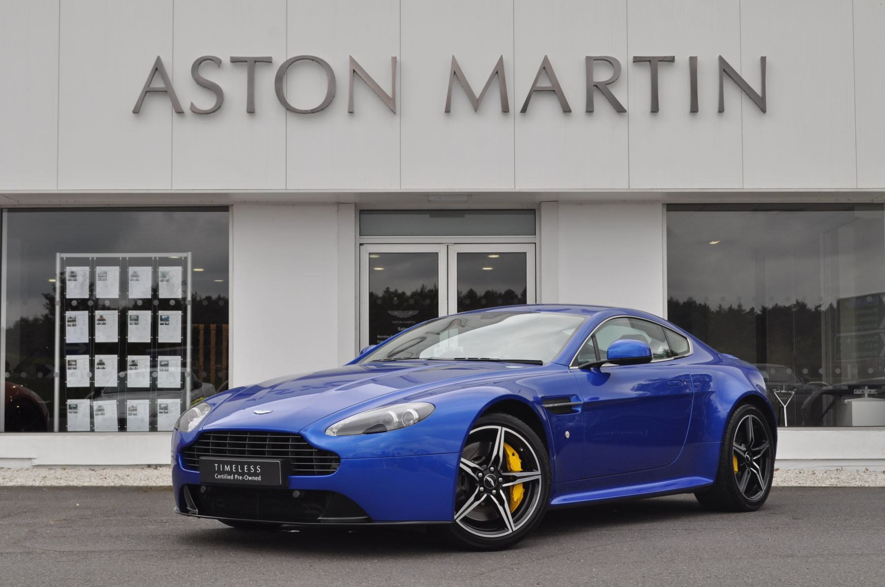 Aston Martin V8 Vantage S Coupe S 2dr Sportshift 4.7 Automatic 3 door Coupe (2017)