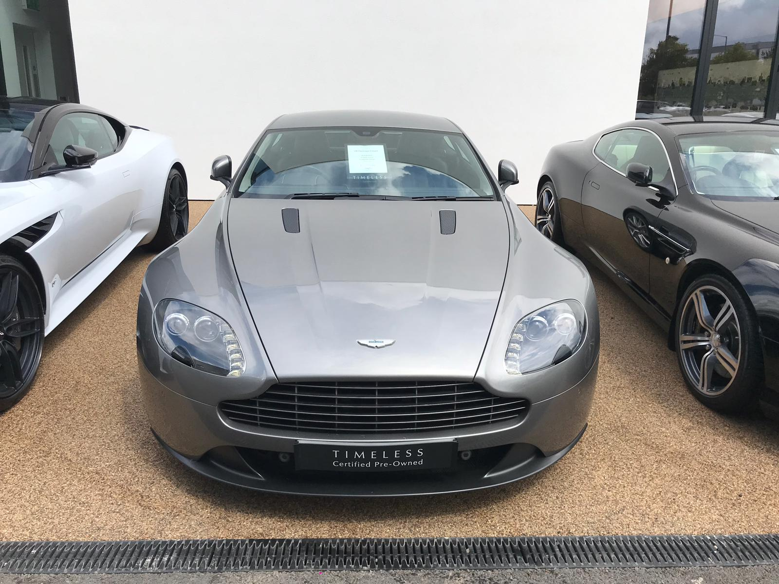 Aston Martin V8 Vantage Coupe 2dr [420] 4.7 3 door Coupe (2013) image