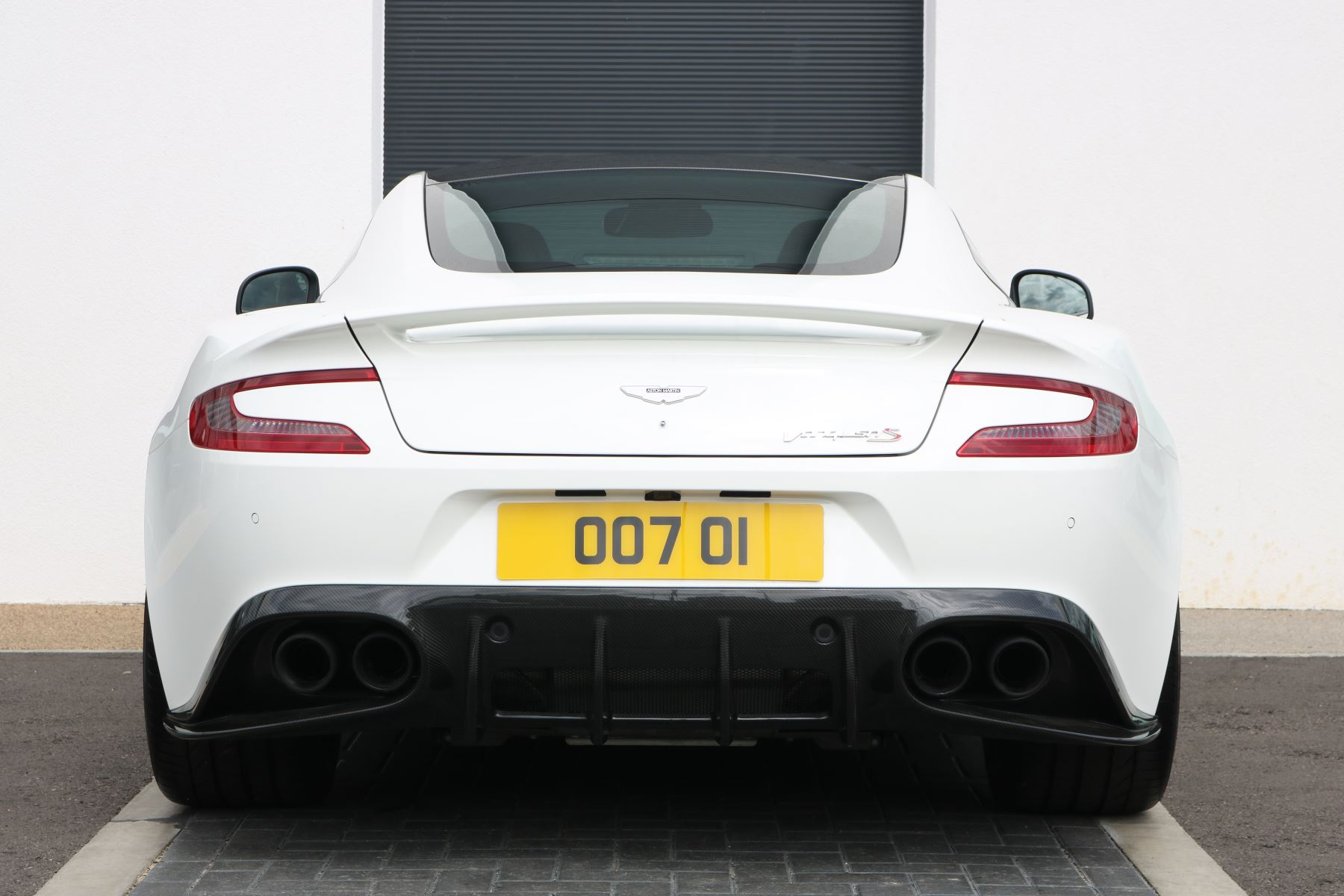 Aston Martin Vanquish V12 [595] S 2+2 2dr Touchtronic image 3