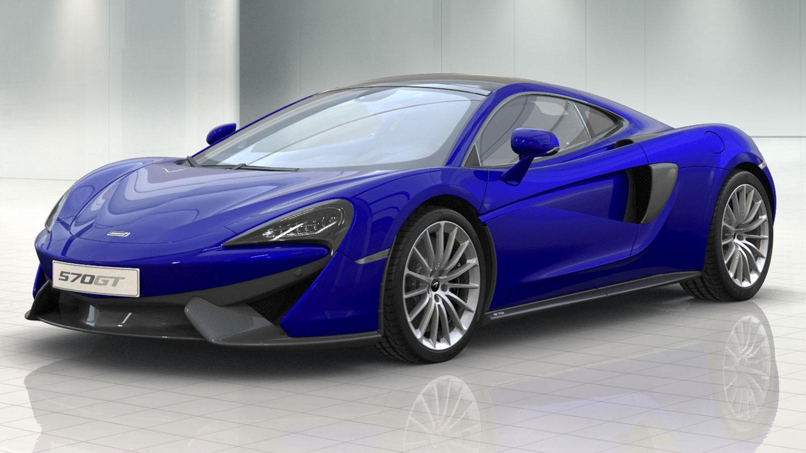 McLaren 570GT V8 2dr Ssg Auto