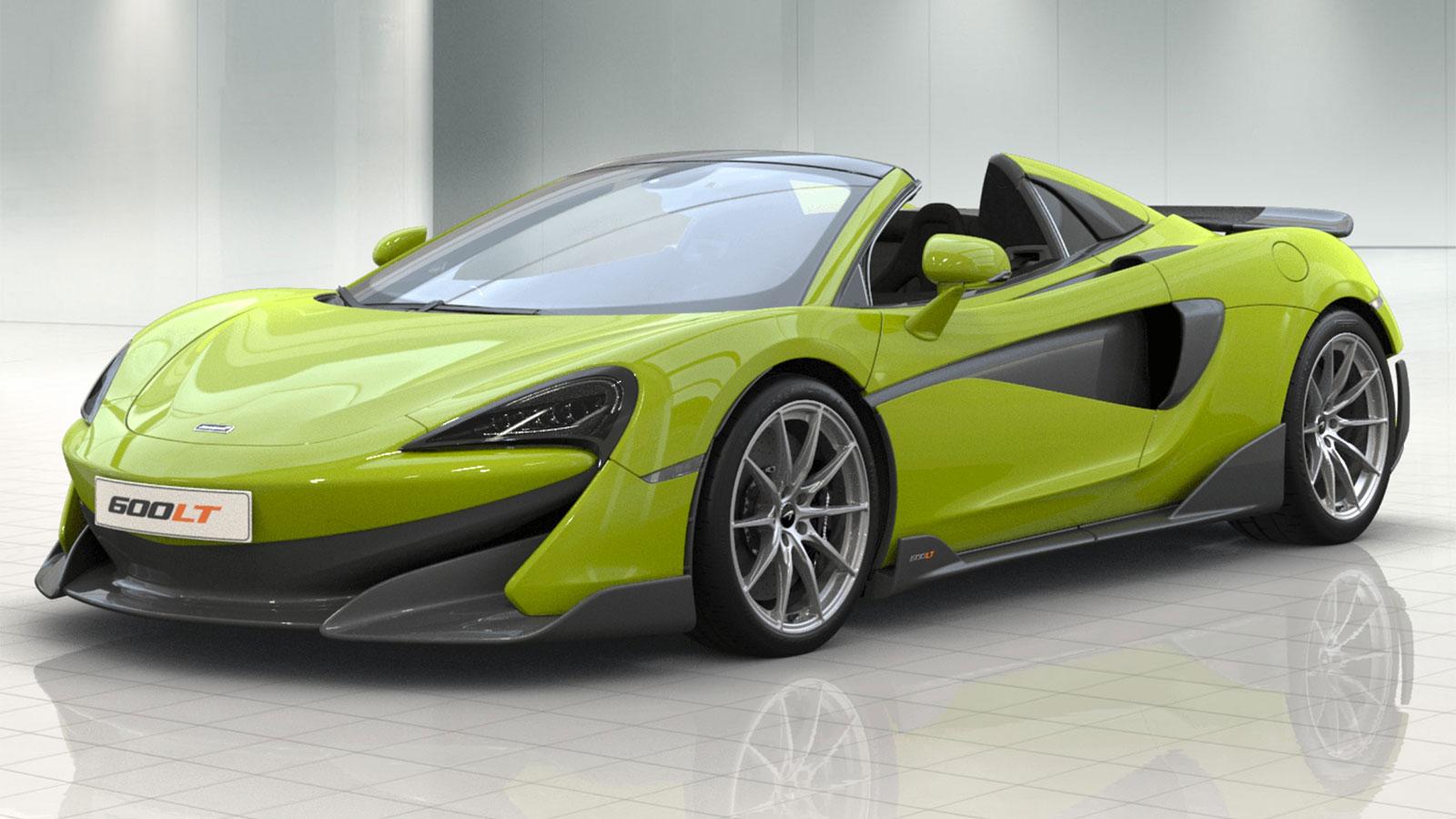 McLaren 600LT Spider V8 2dr Ssg Auto