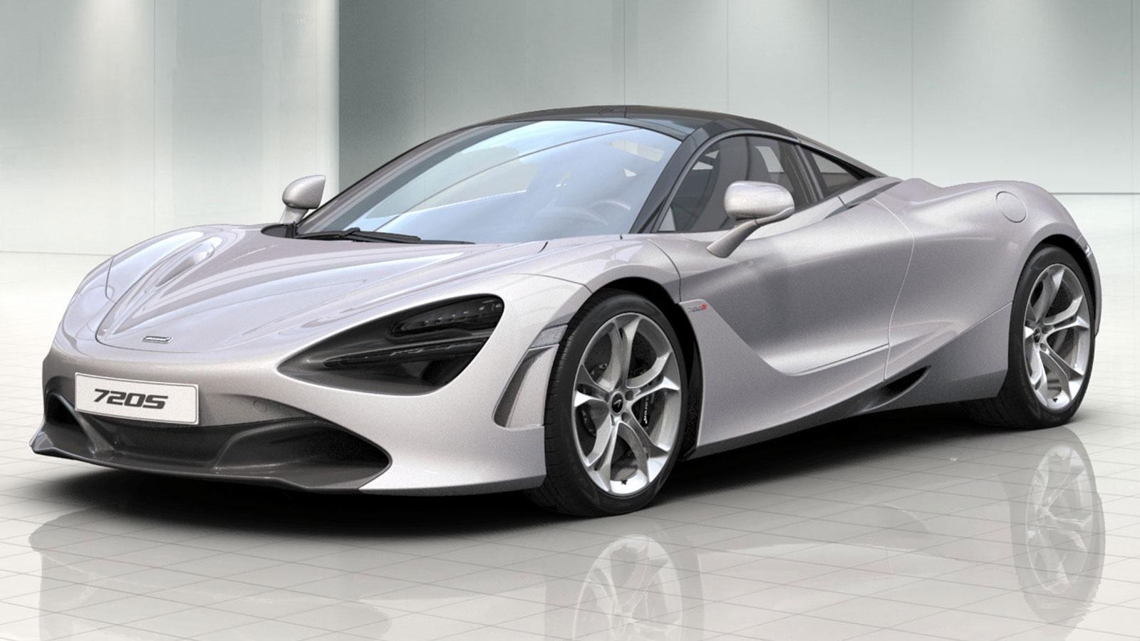 McLaren 720S Coupe V8 2dr Ssg Auto