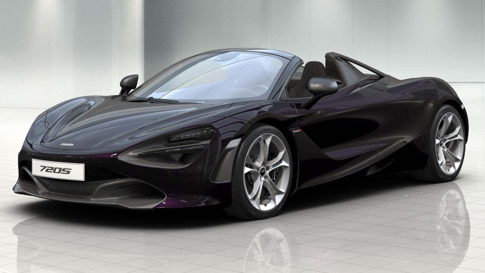McLaren 720S Spider V8 Performance 2dr Ssg Auto