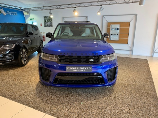 Land Rover Range Rover Sport 5.0 V8 S/C 575 SVR - Sliding Panoramic Roof - Privacy Glass - Head Up Display -  Automatic 5 door 4x4 (18 MY) image