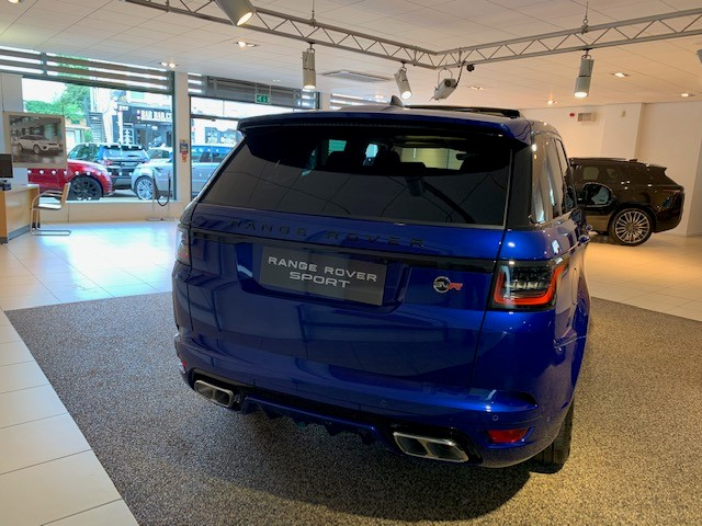 Land Rover Range Rover Sport 5.0 V8 S/C 575 SVR - Sliding Panoramic Roof - Privacy Glass - Head Up Display -  image 11