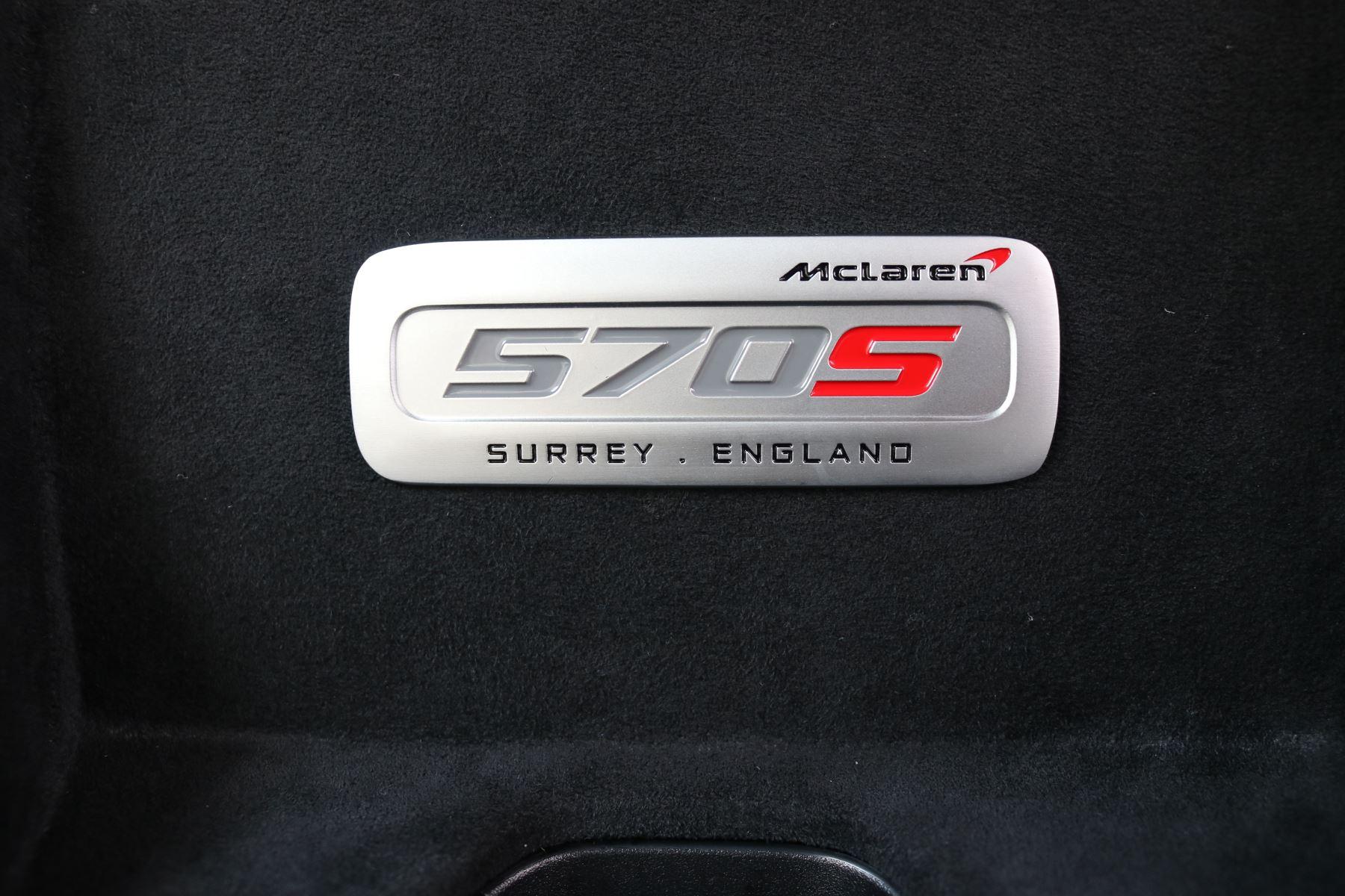 McLaren 570S Coupe V8 2dr SSG Auto Coupe image 21