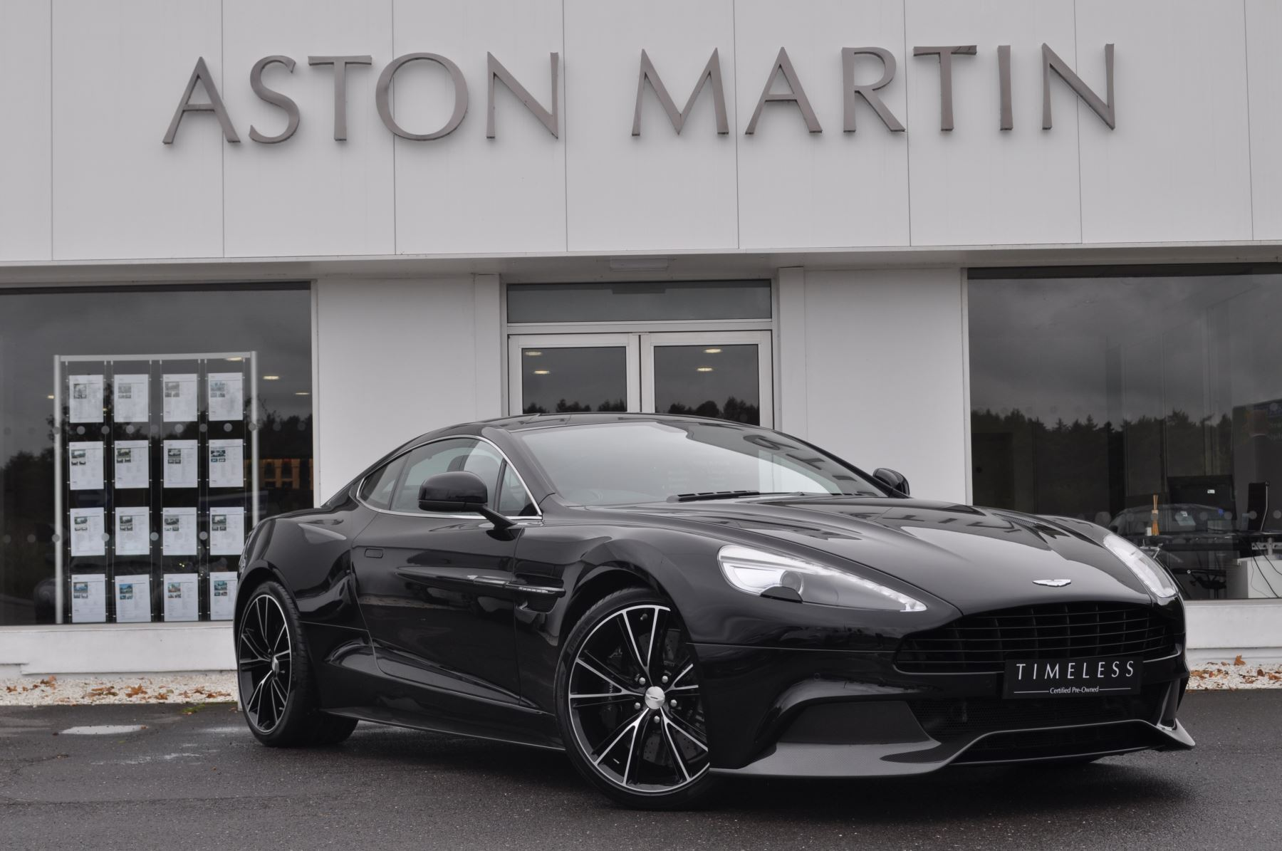 Aston Martin Vanquish V12 2+2 2dr Touchtronic 5.9 Automatic Coupe (2014) image