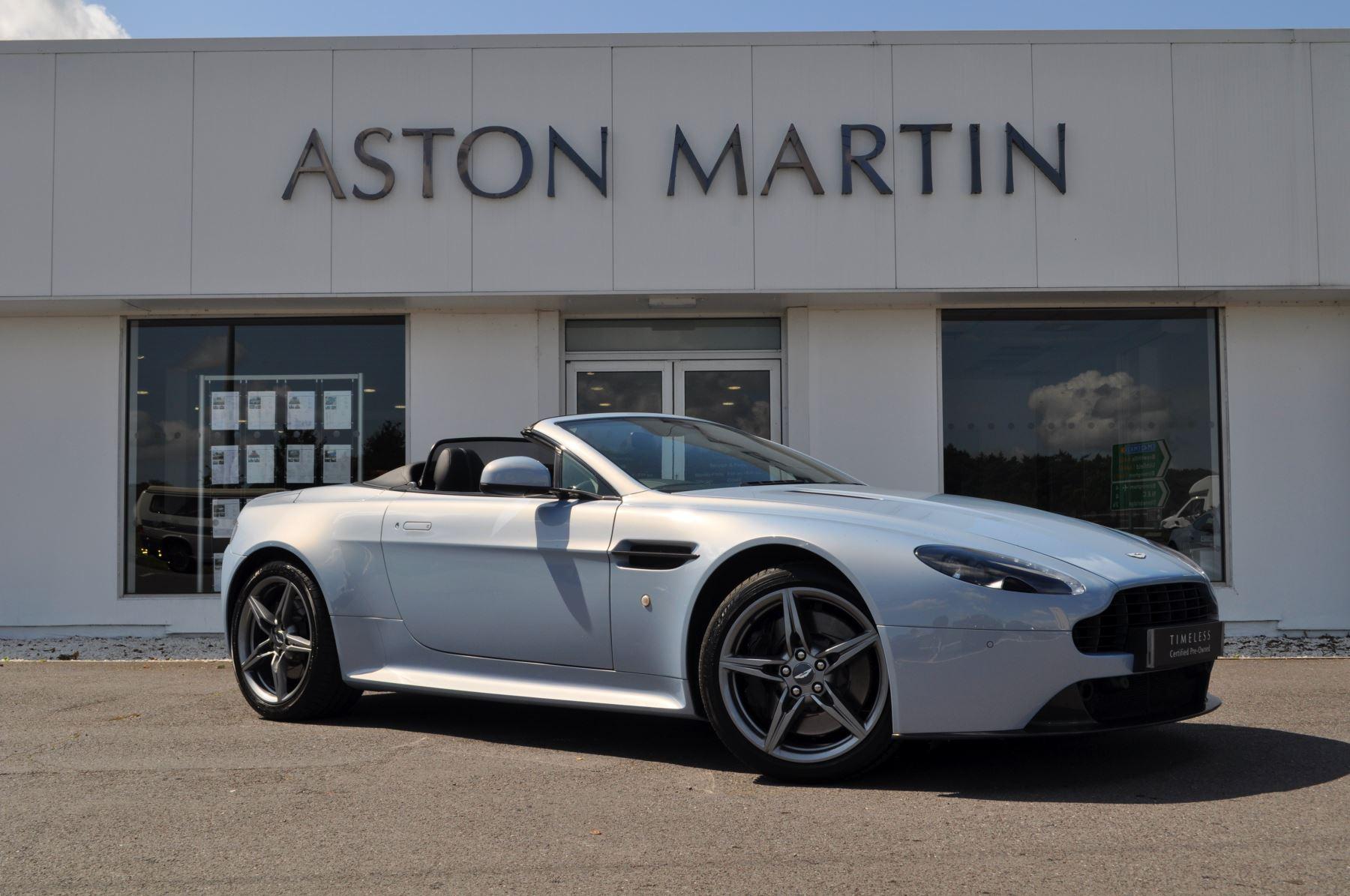 Aston Martin V8 Vantage S Roadster S 2dr Sportshift 4.7 Automatic Roadster (2017) image