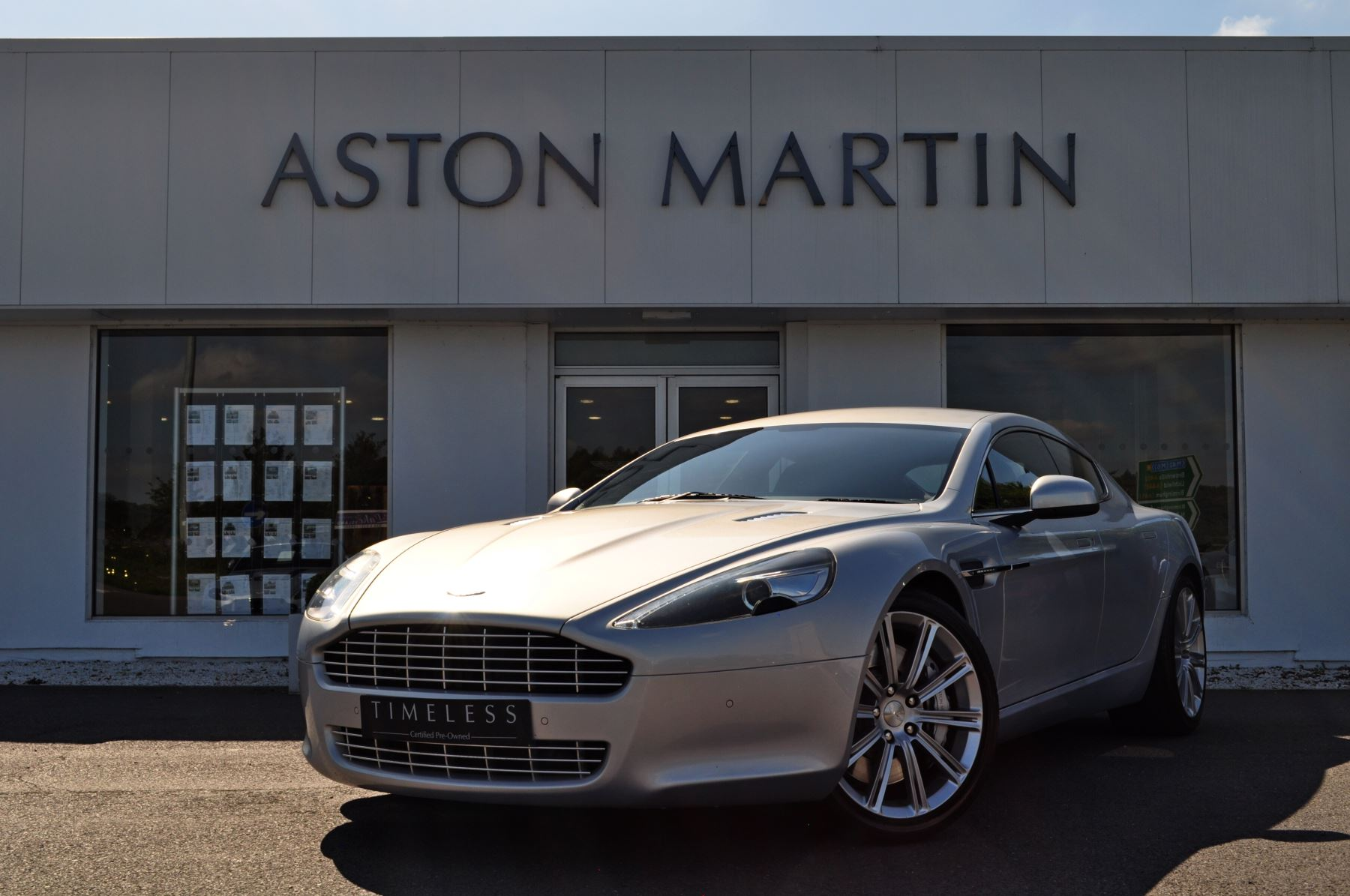 Aston Martin Rapide V12 4dr Touchtronic 5.9 Automatic 5 door Saloon (2010) image