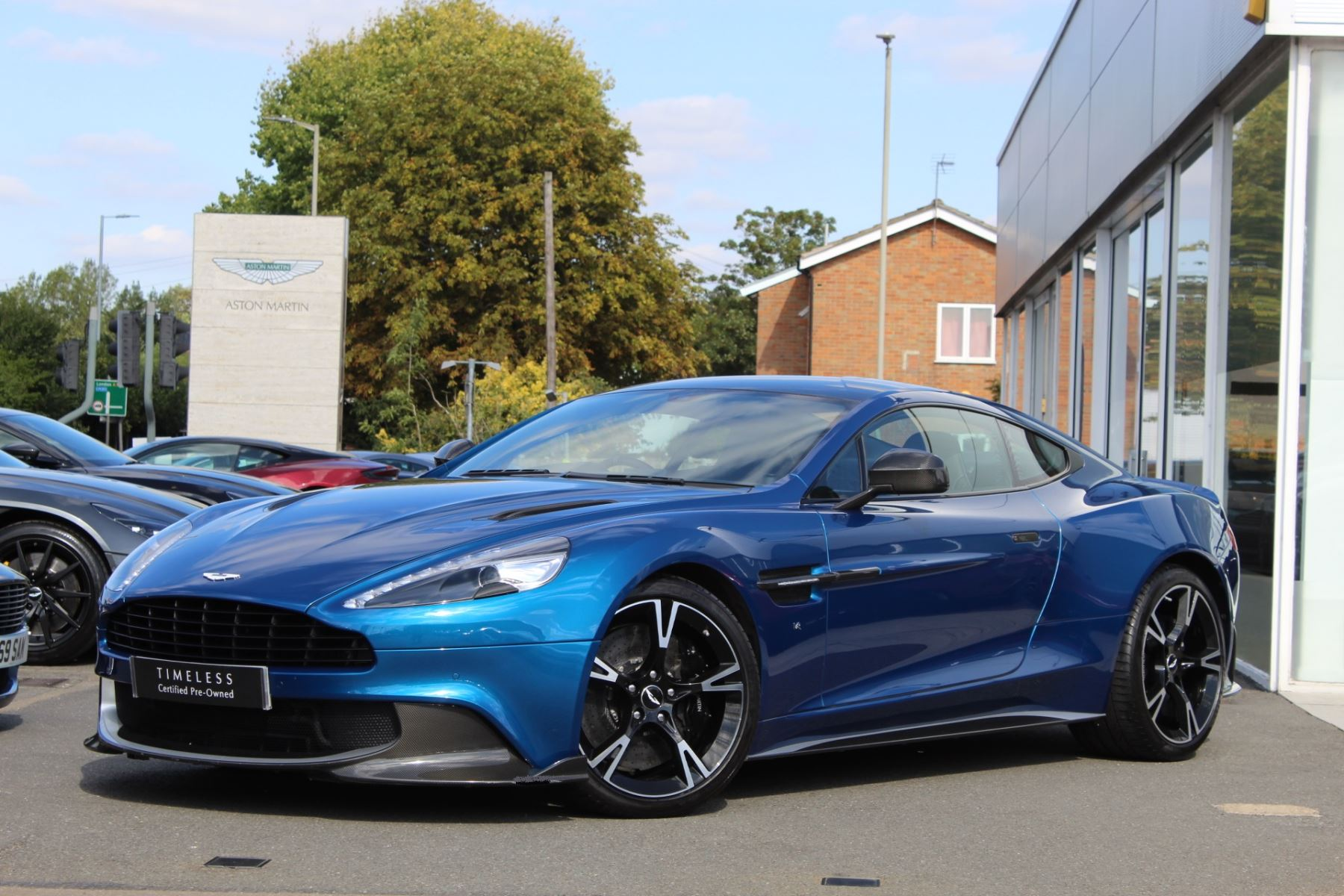 Aston Martin Vanquish V12 [595] S 2+2 2dr Touchtronic 5.9 Automatic 3 door Coupe (2018)