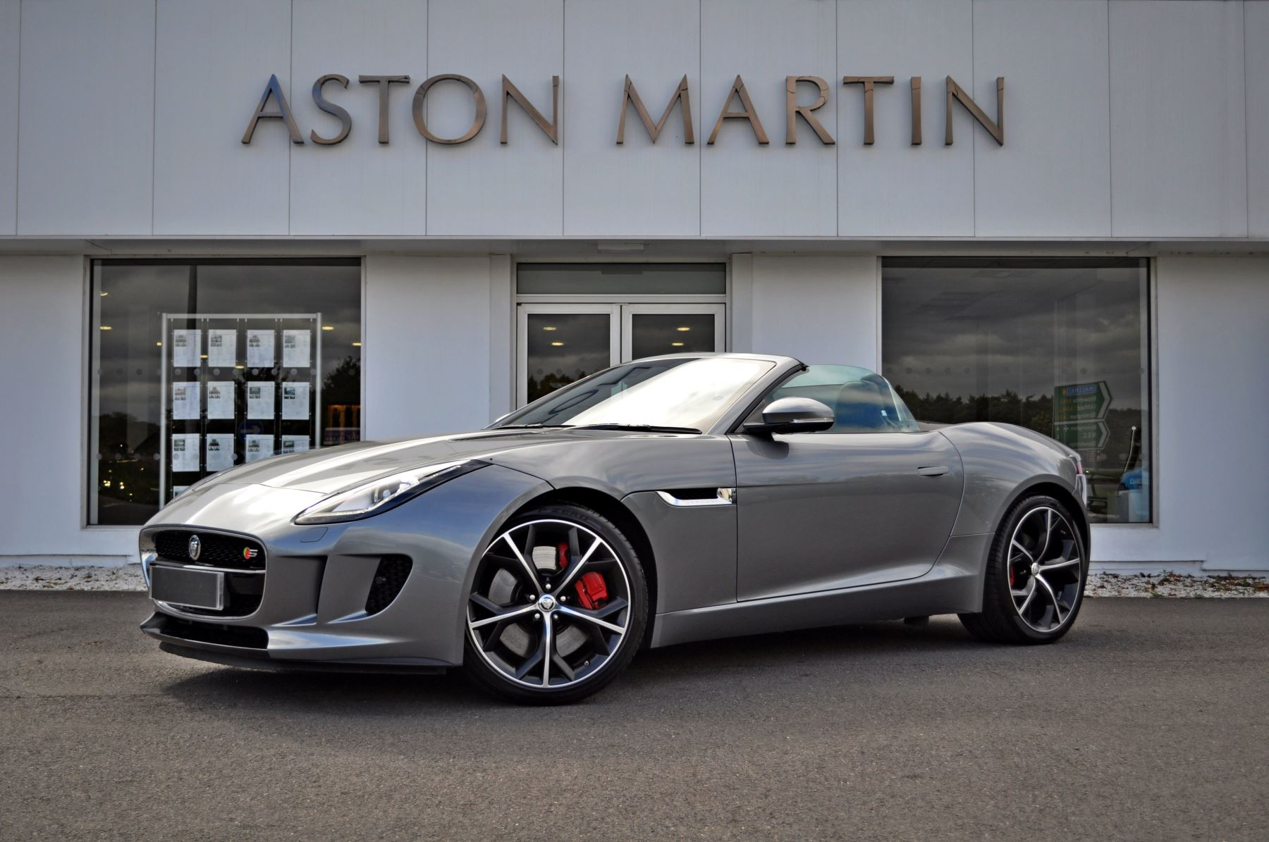 Jaguar F-TYPE 3.0 Supercharged V6 S 2dr Automatic Convertible (2014)