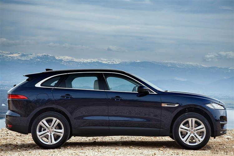 Jaguar F-PACE 5.0 Supercharged V8 SVR AWD Automatic 5 door Estate (18MY) image